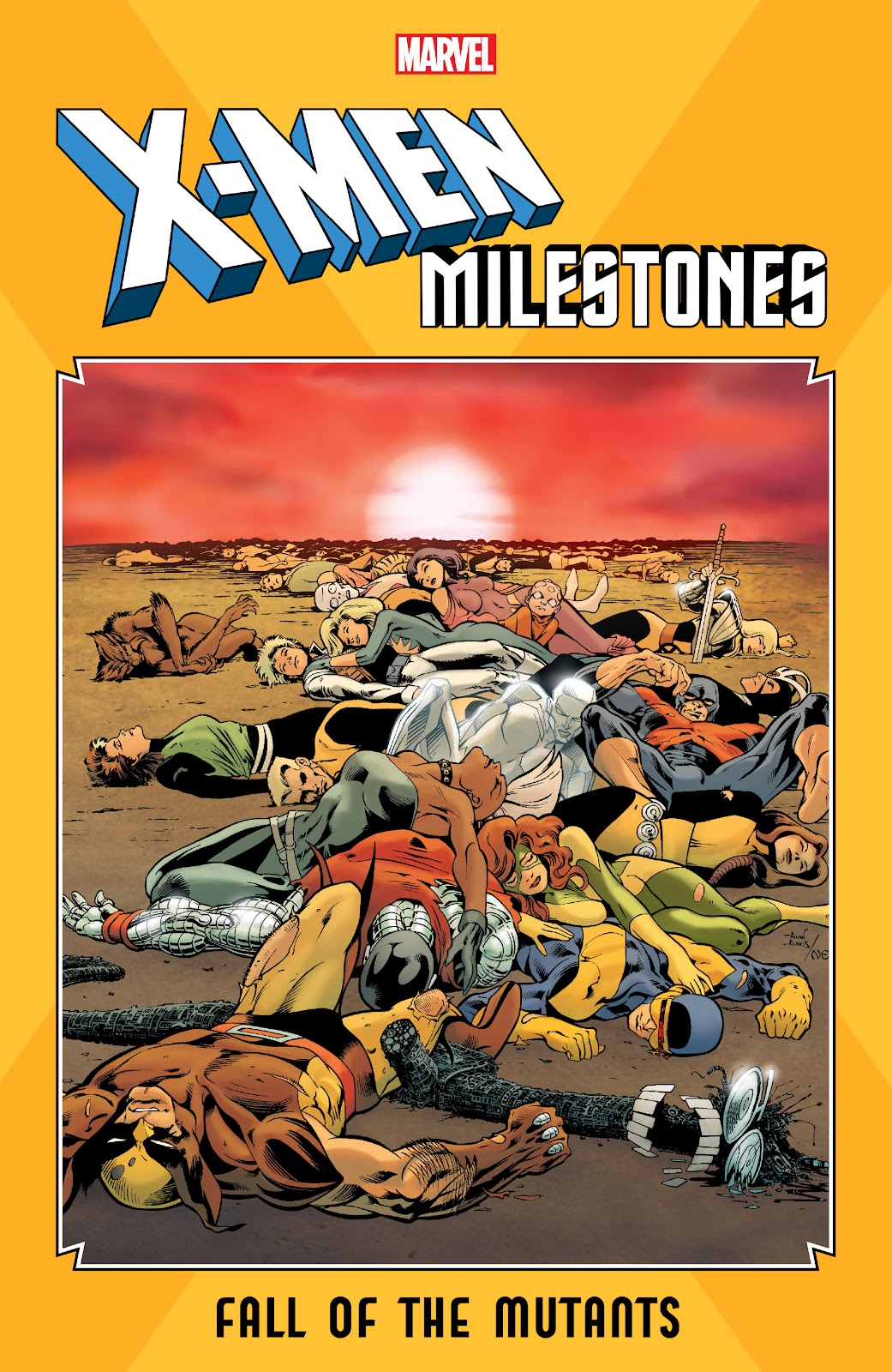 Read online X-Men Milestones: Fall of the Mutants comic -  Issue # TPB (Part 1) - 1