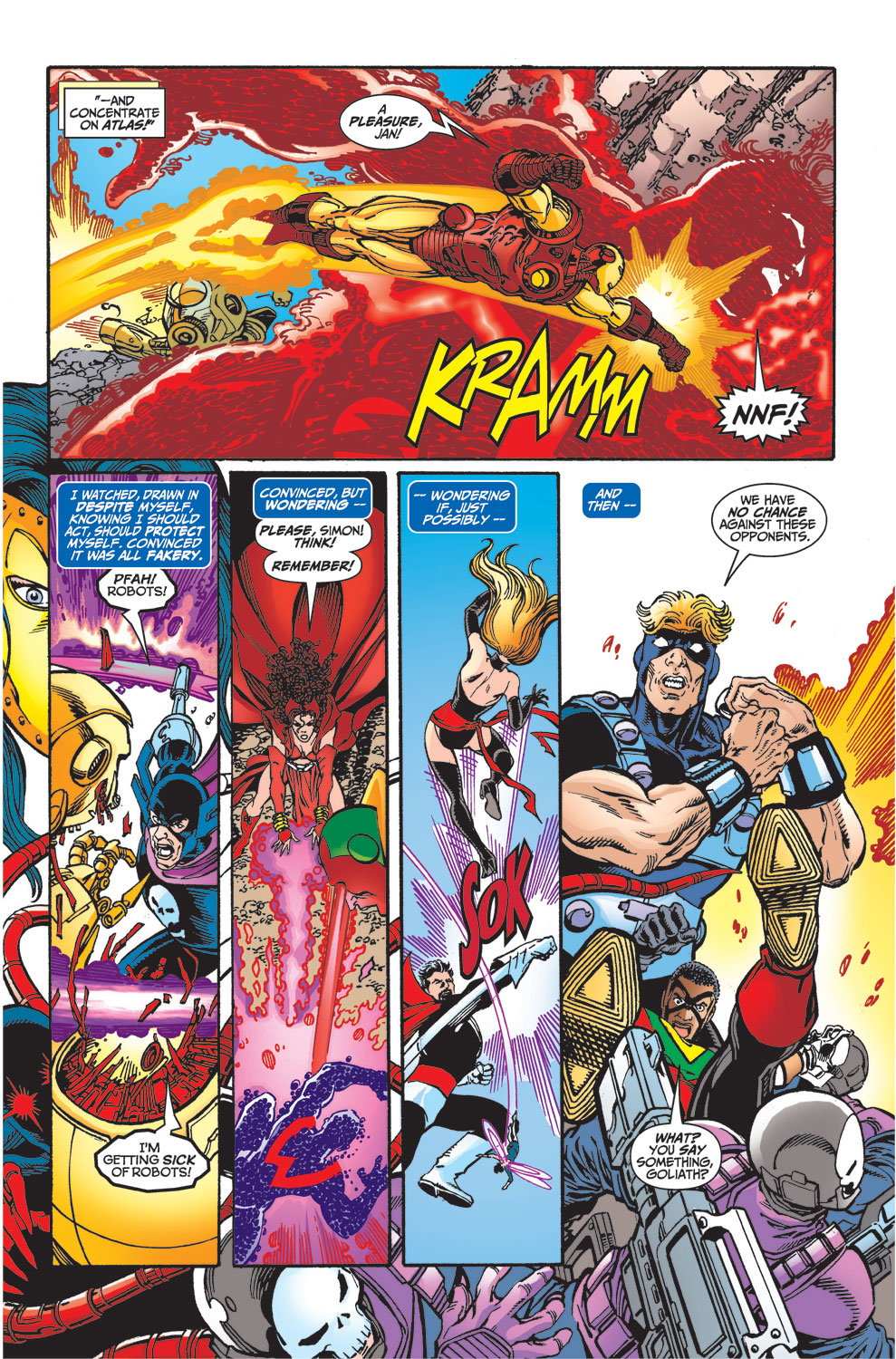 Read online Avengers (1998) comic -  Issue #33 - 5