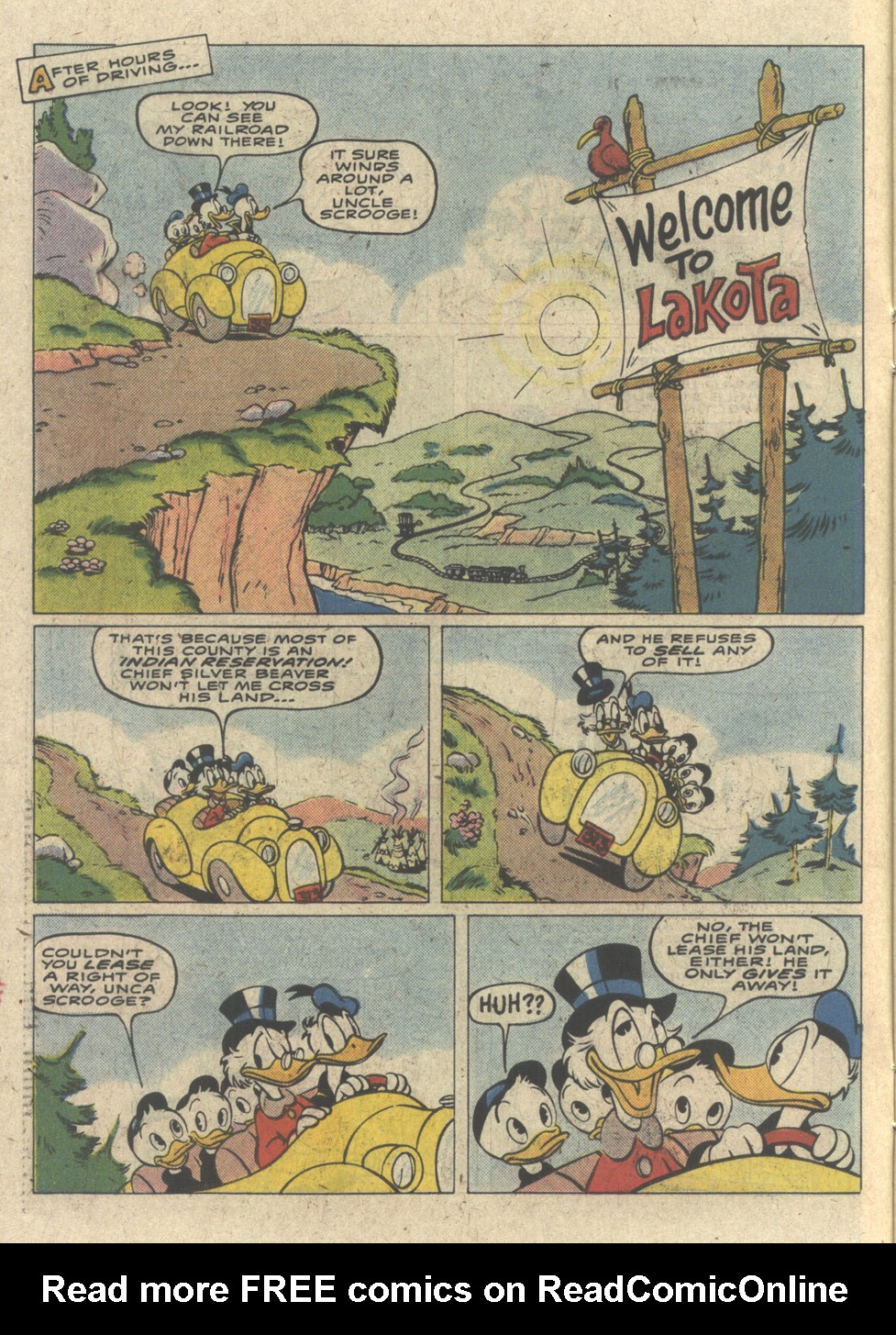 Read online Uncle Scrooge (1953) comic -  Issue #227 - 6