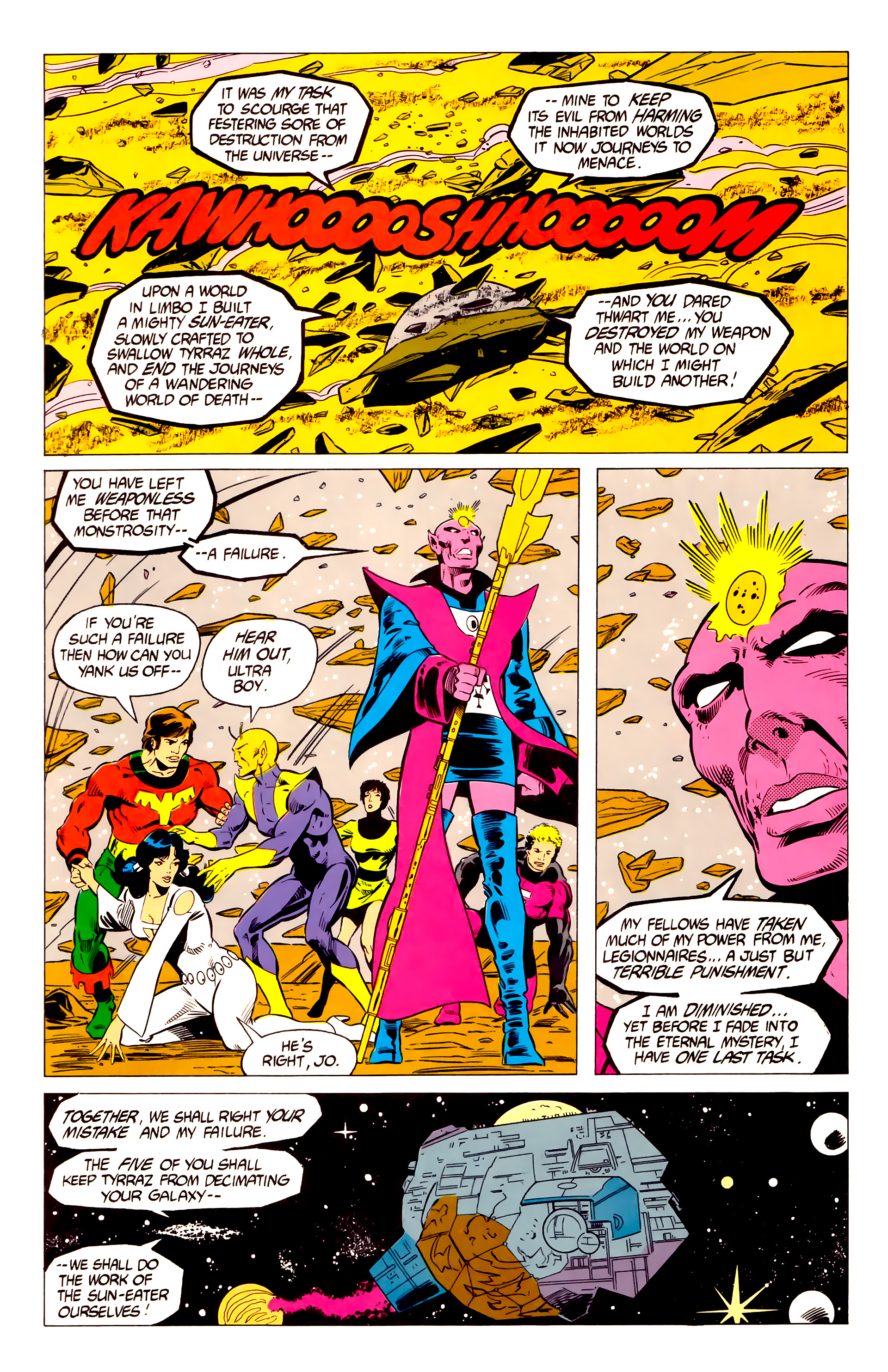 Legion of Super-Heroes (1984) 19 Page 12