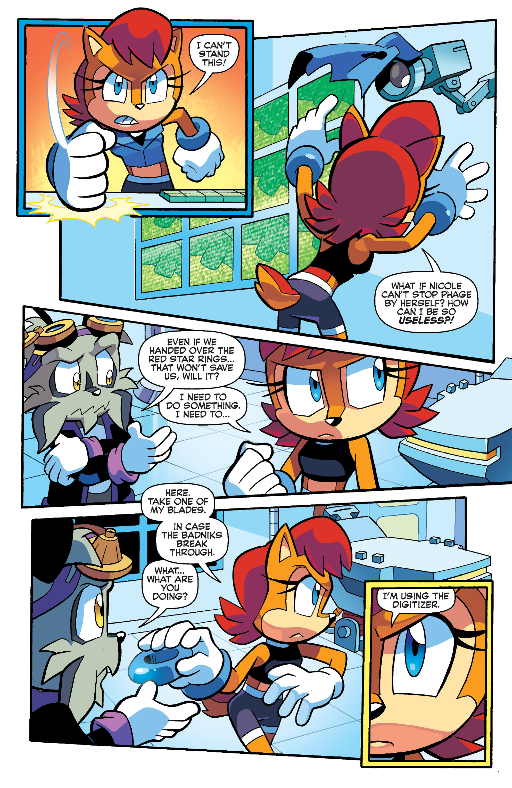 Read online Sonic Universe comic -  Issue #73 - 20
