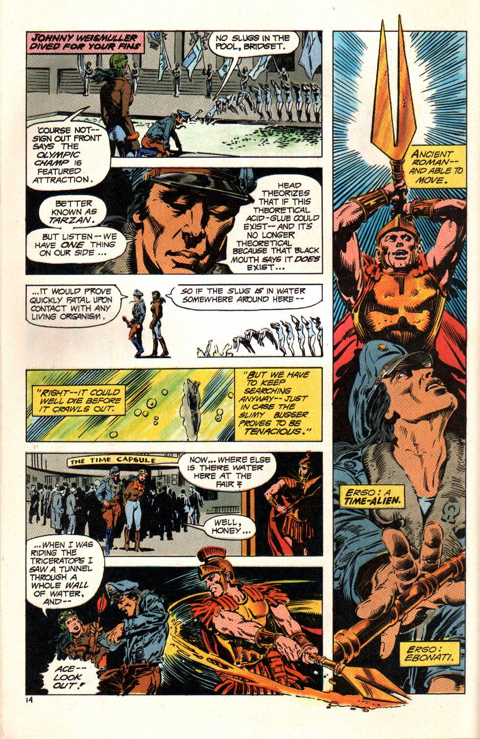 Read online Aztec Ace comic -  Issue #6 - 15