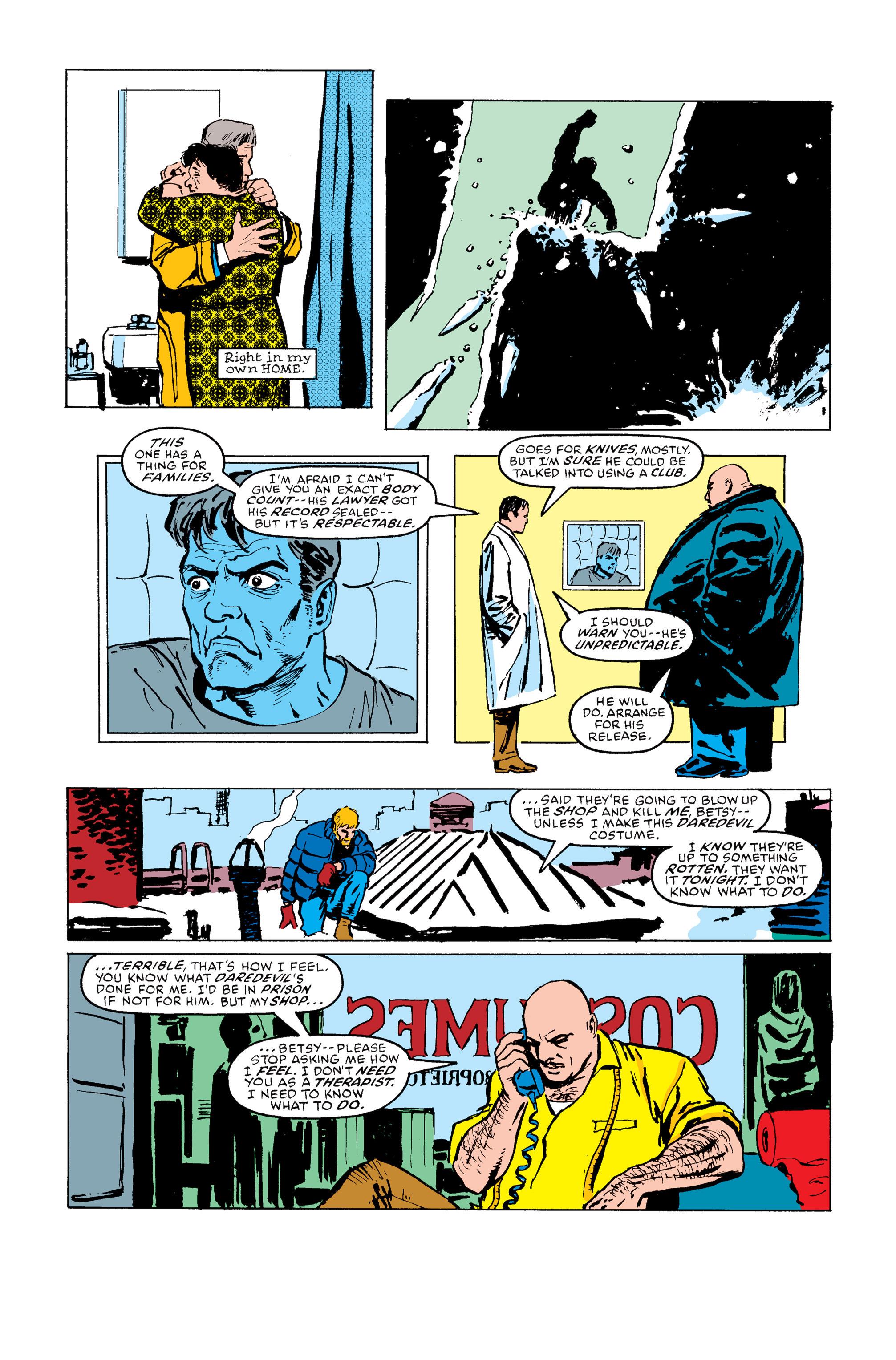 Read online Daredevil: Born Again comic -  Issue # Full - 133