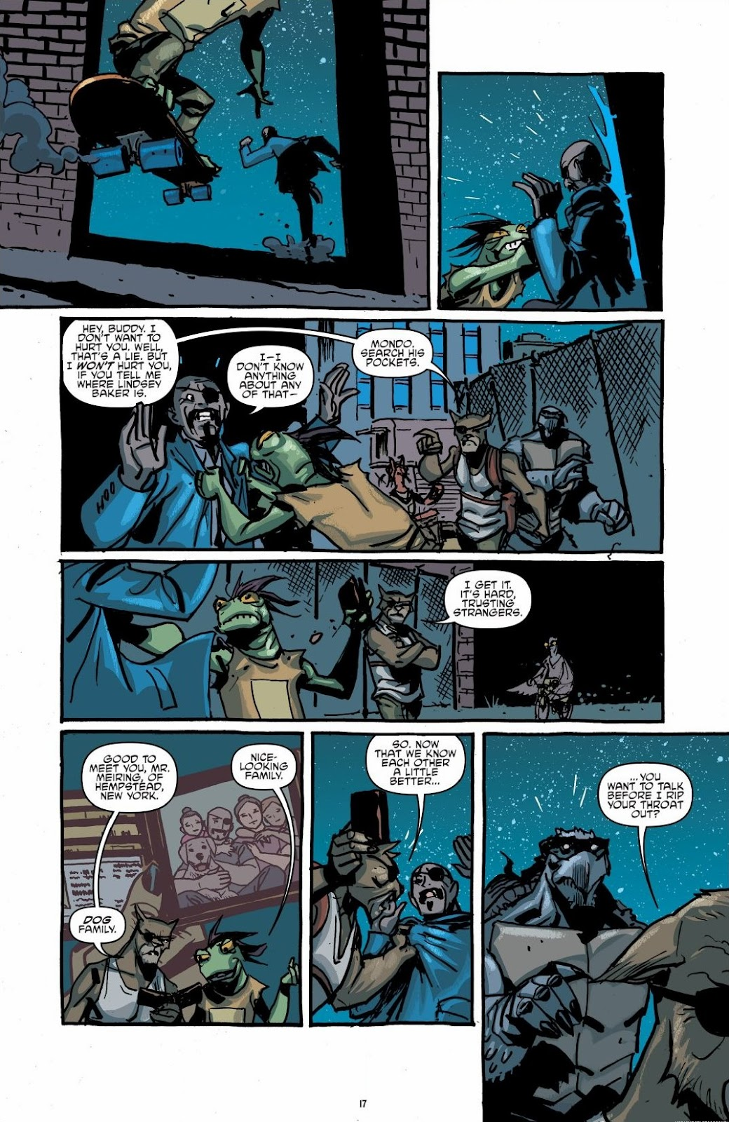 Read online Teenage Mutant Ninja Turtles: The IDW Collection comic -  Issue # TPB 6 (Part 1) - 16