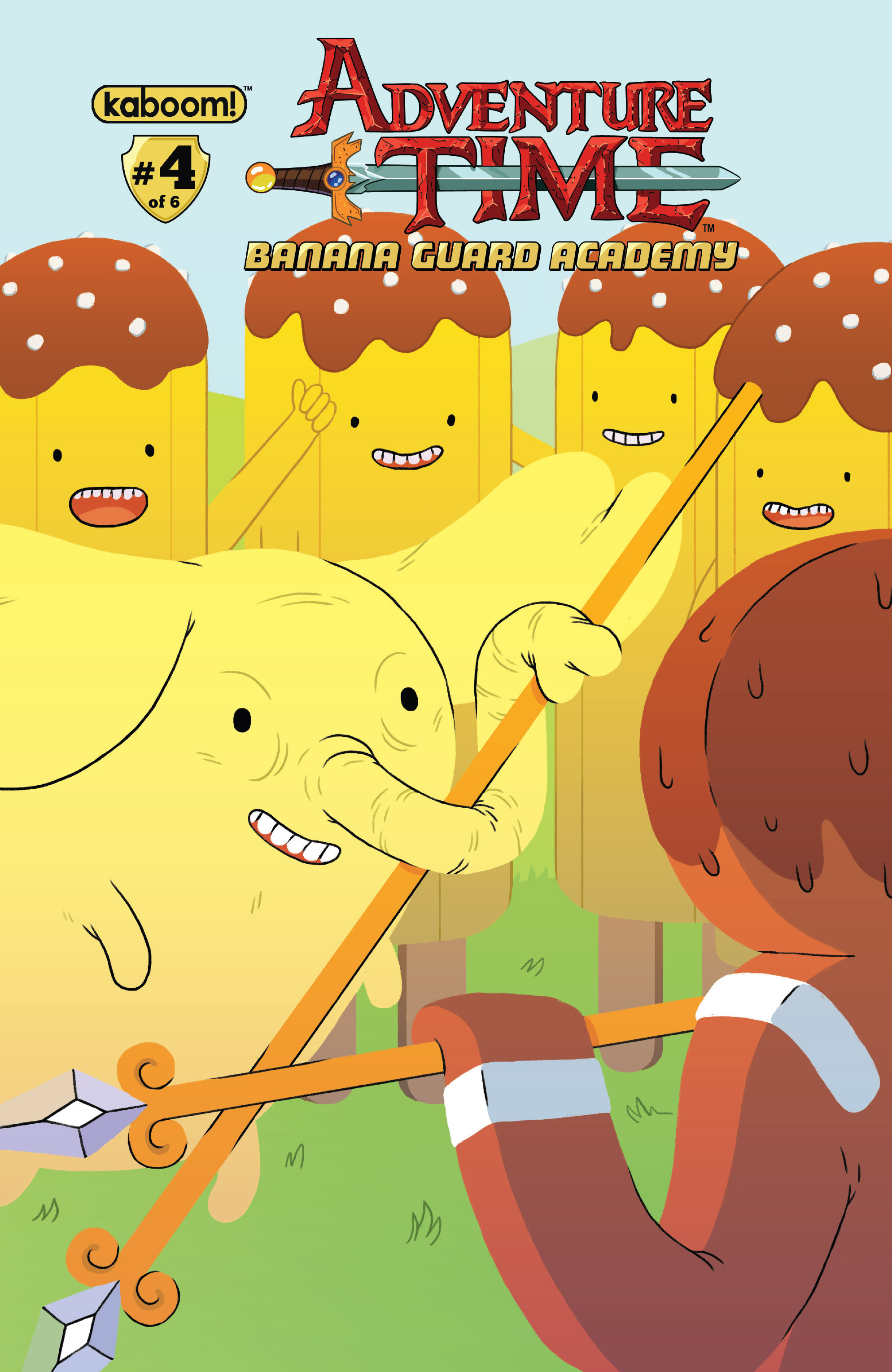 Read online Adventure Time: Banana Guard Academ comic -  Issue #4 - 1