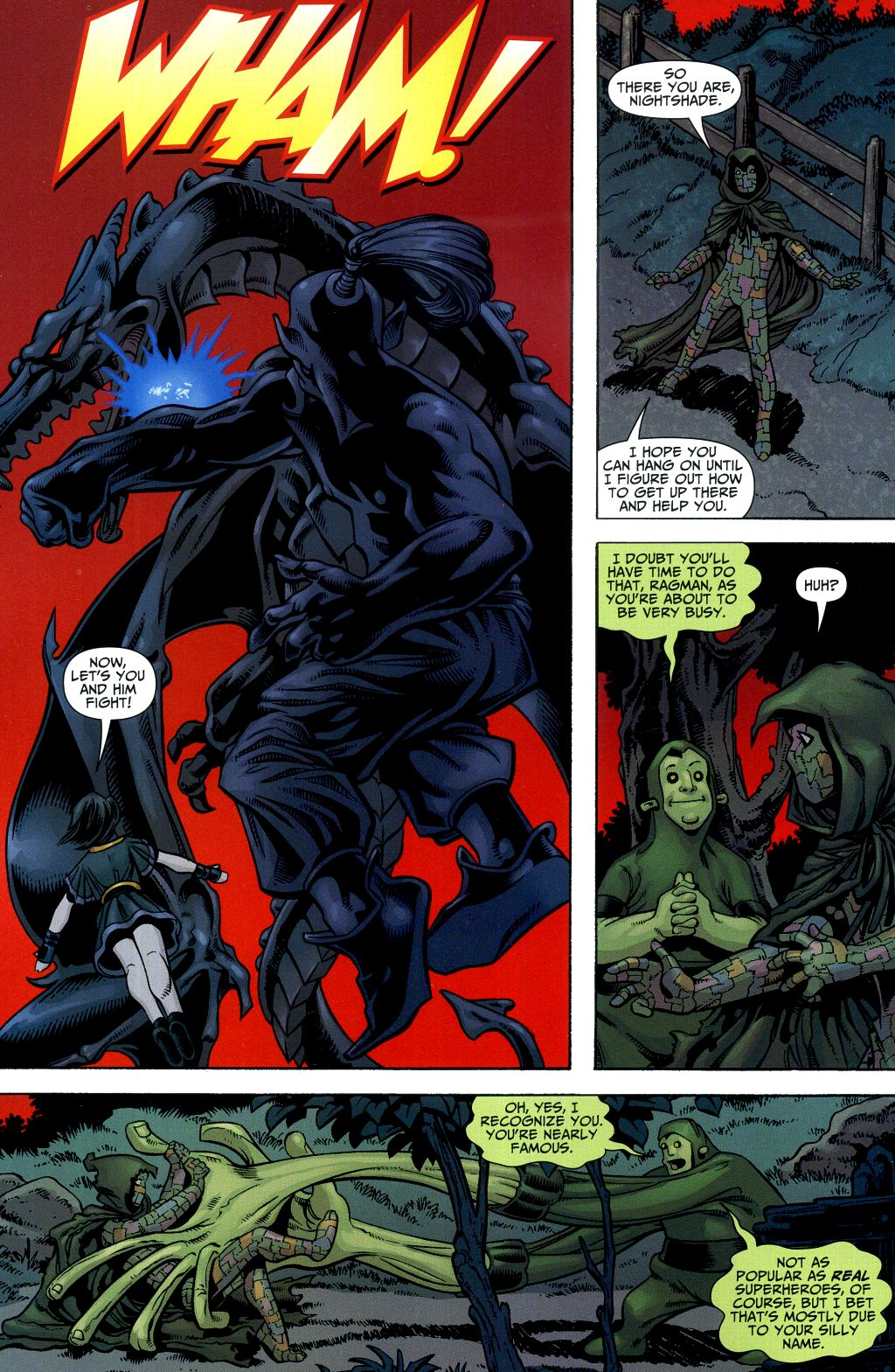 Read online Shadowpact comic -  Issue #2 - 7