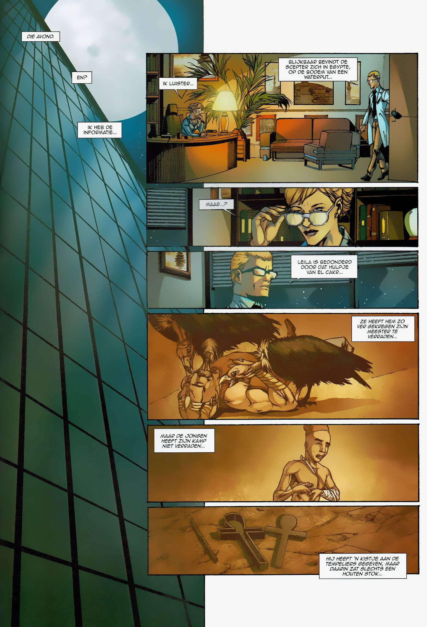 Read online Assassin's Creed (2009) comic -  Issue #6 - 36