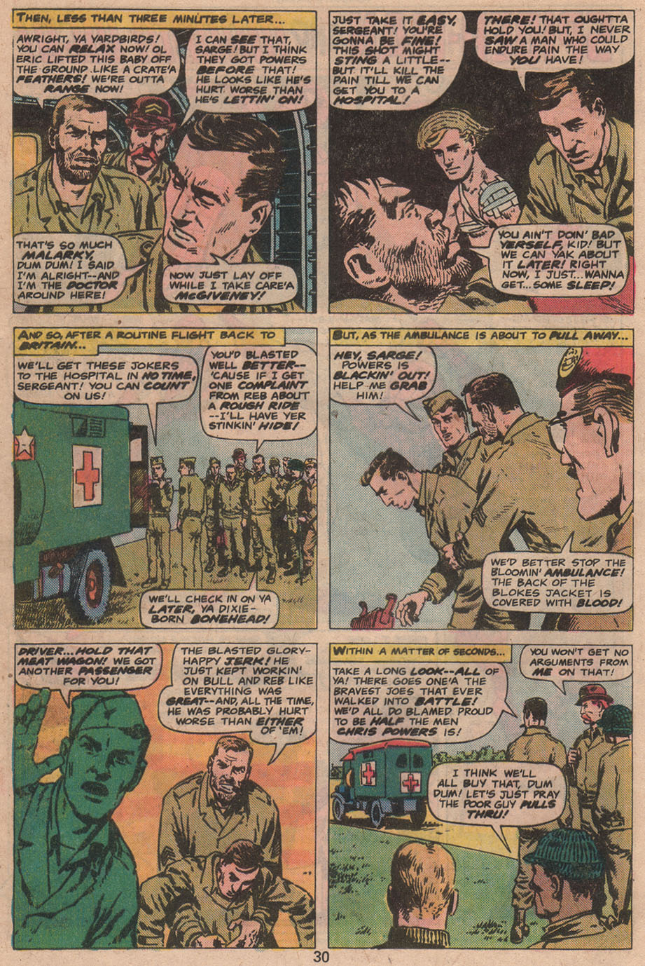Read online Sgt. Fury comic -  Issue #141 - 32