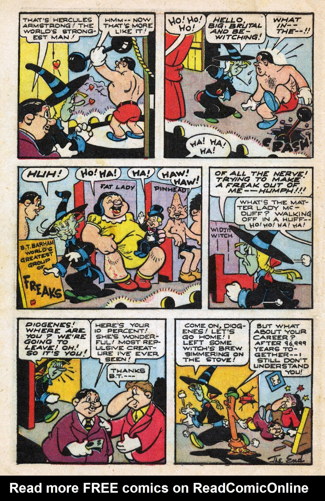 Read online Comedy Comics (1942) comic -  Issue #27 - 32