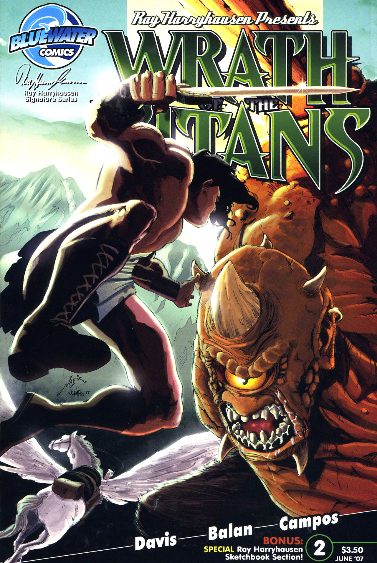 Read online Wrath of the Titans comic -  Issue #2 - 1