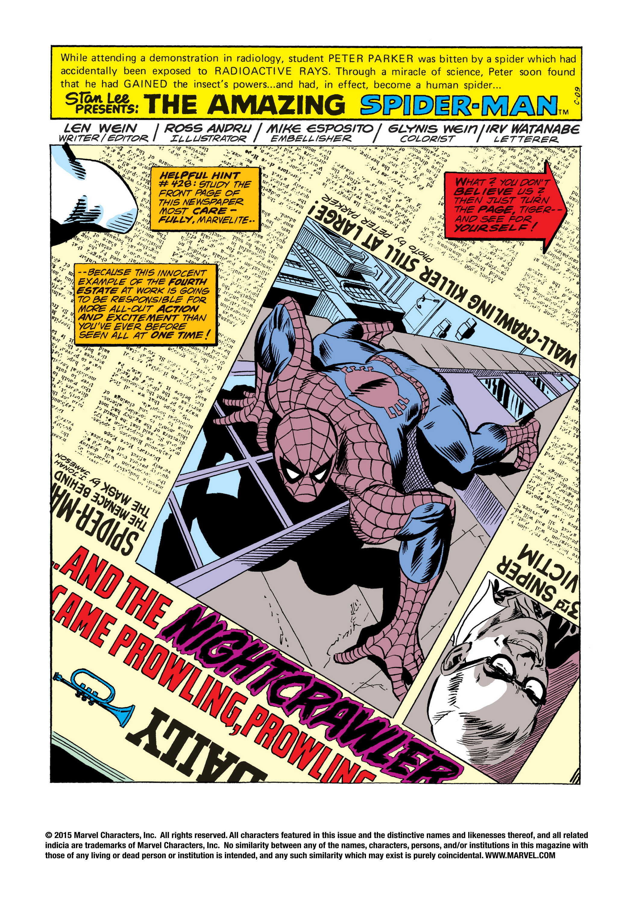 The Amazing Spider-Man (1963) 161 Page 1