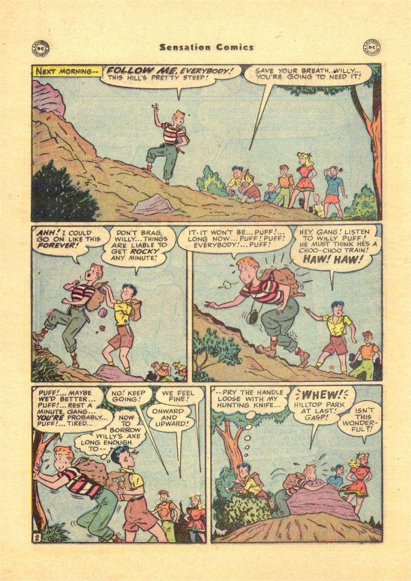 Read online Sensation (Mystery) Comics comic -  Issue #84 - 34