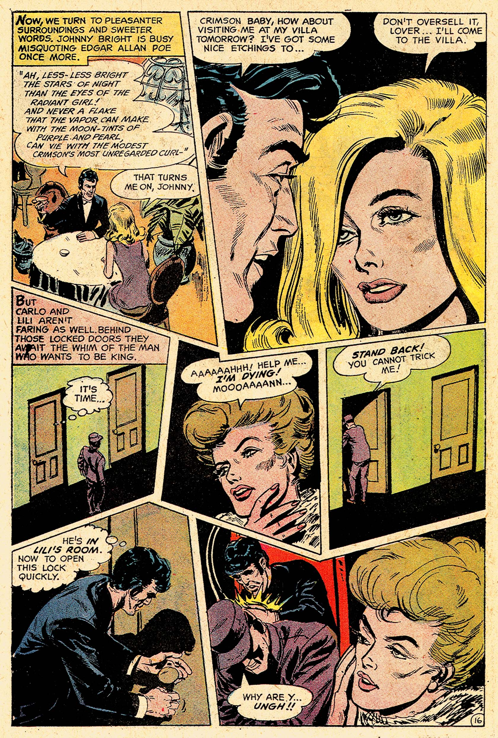 Read online Secret Six (1968) comic -  Issue #5 - 21