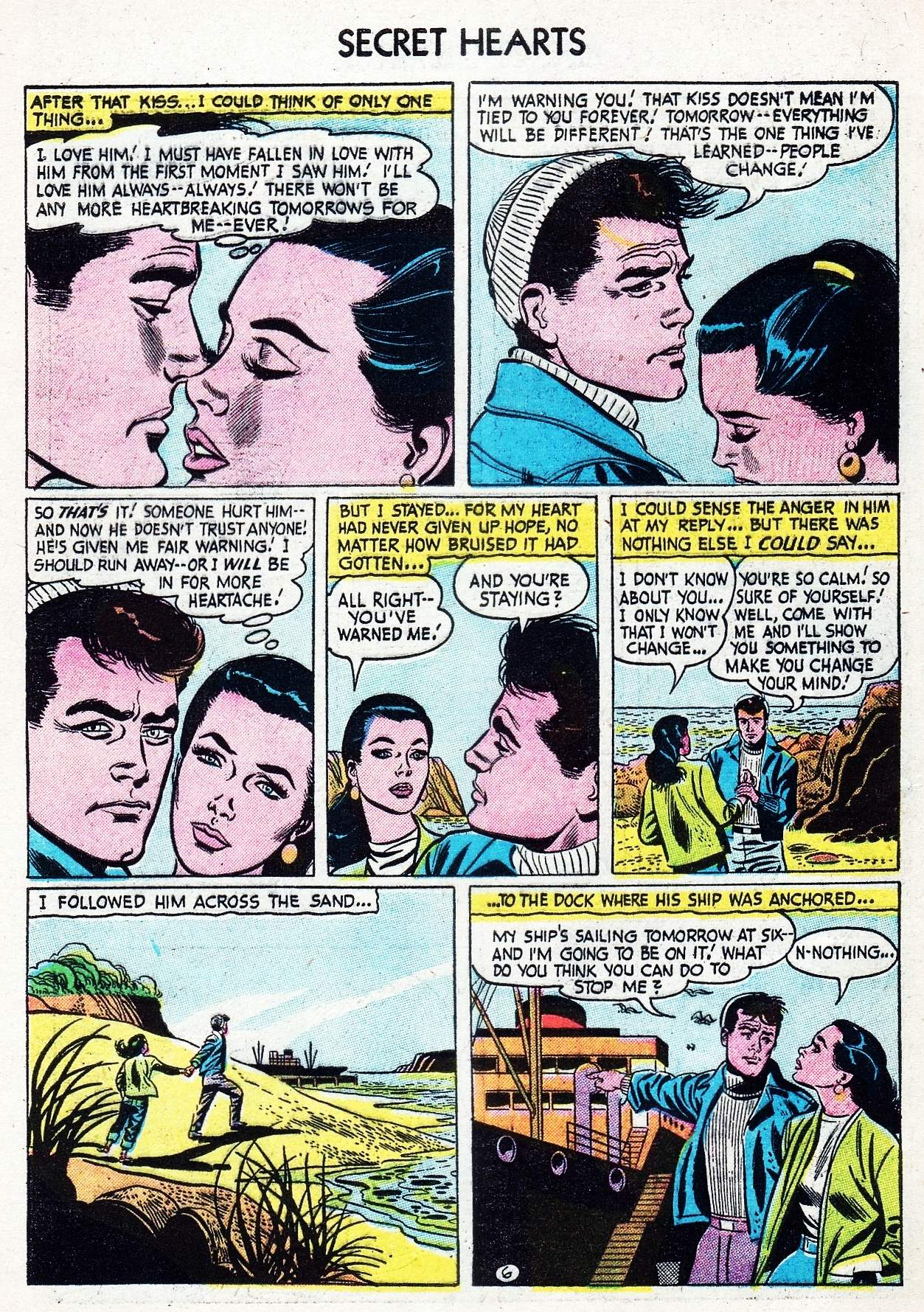 Read online Secret Hearts comic -  Issue #29 - 32