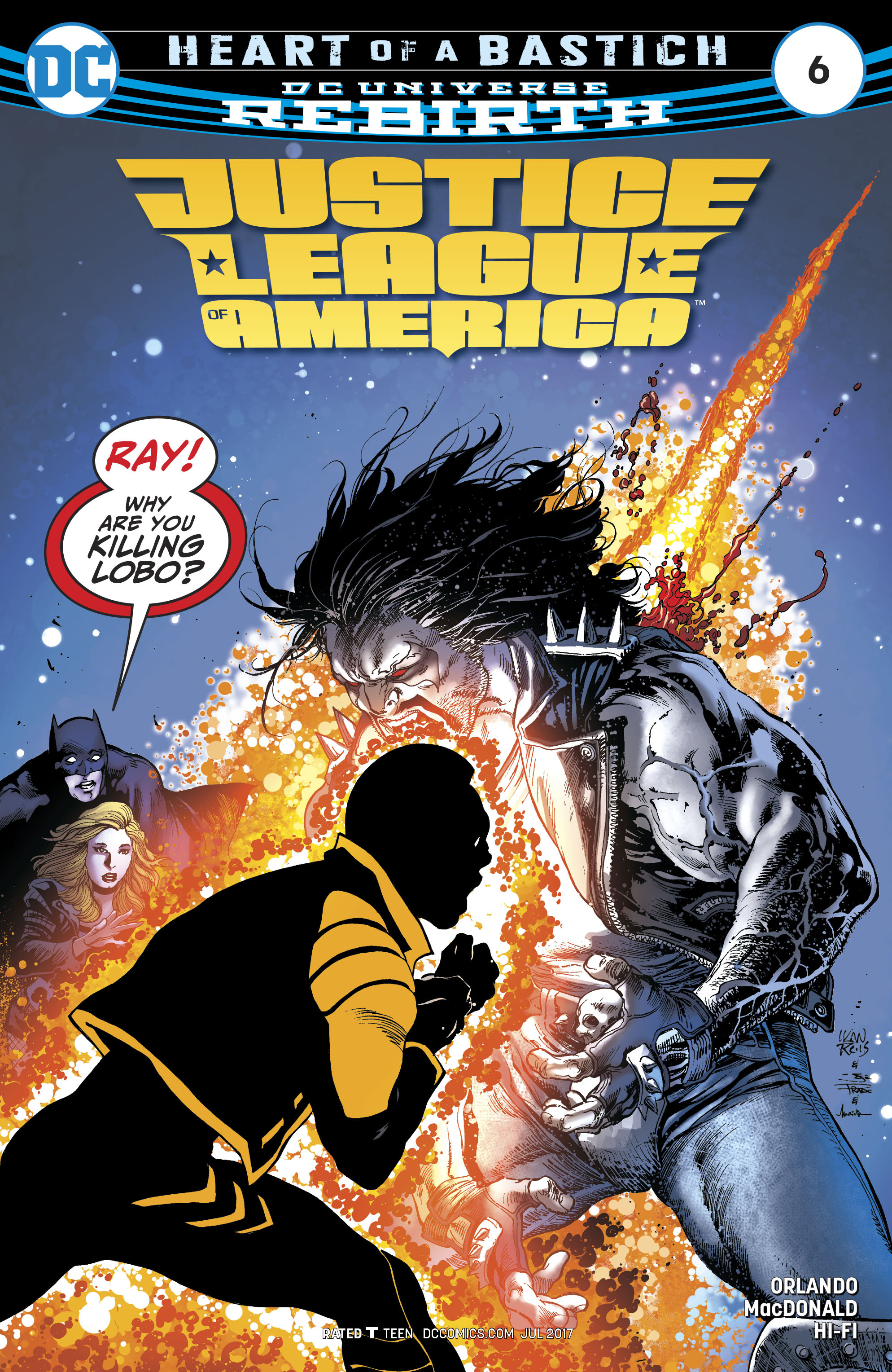 Read online Justice League of America (2017) comic -  Issue #6 - 1
