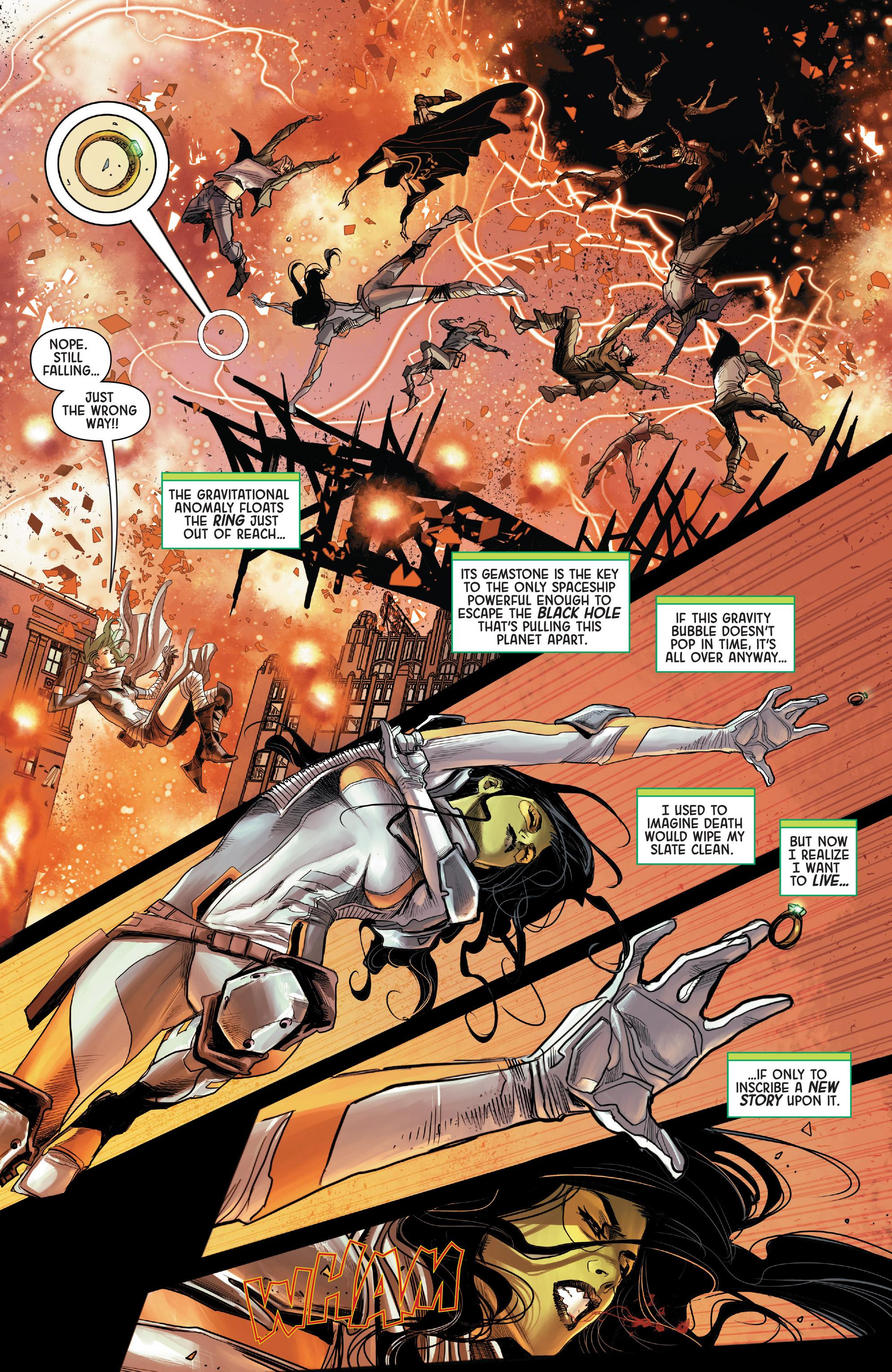 Read online Gamora comic -  Issue #5 - 4
