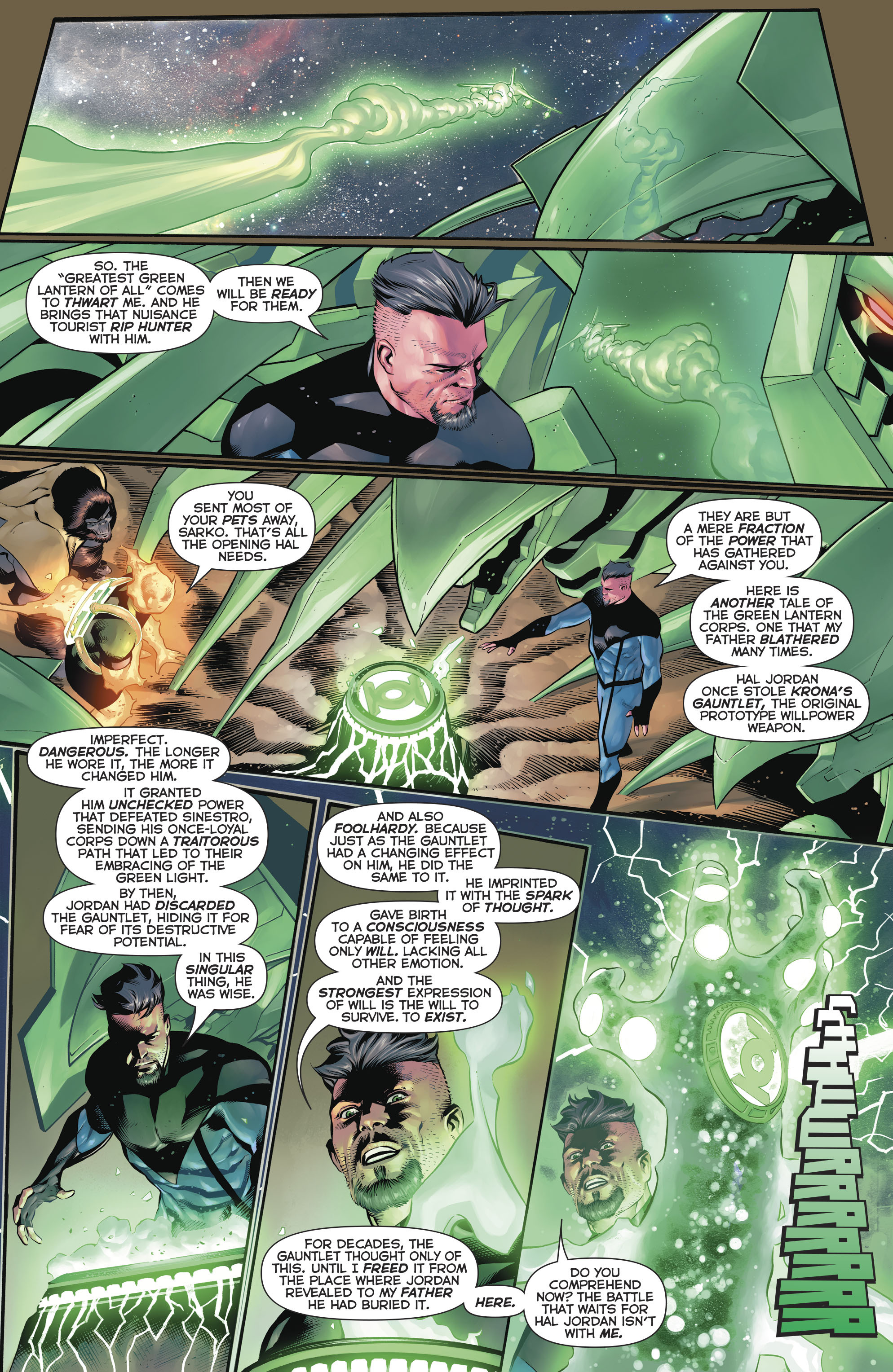 Read online Hal Jordan And The Green Lantern Corps comic -  Issue #20 - 22