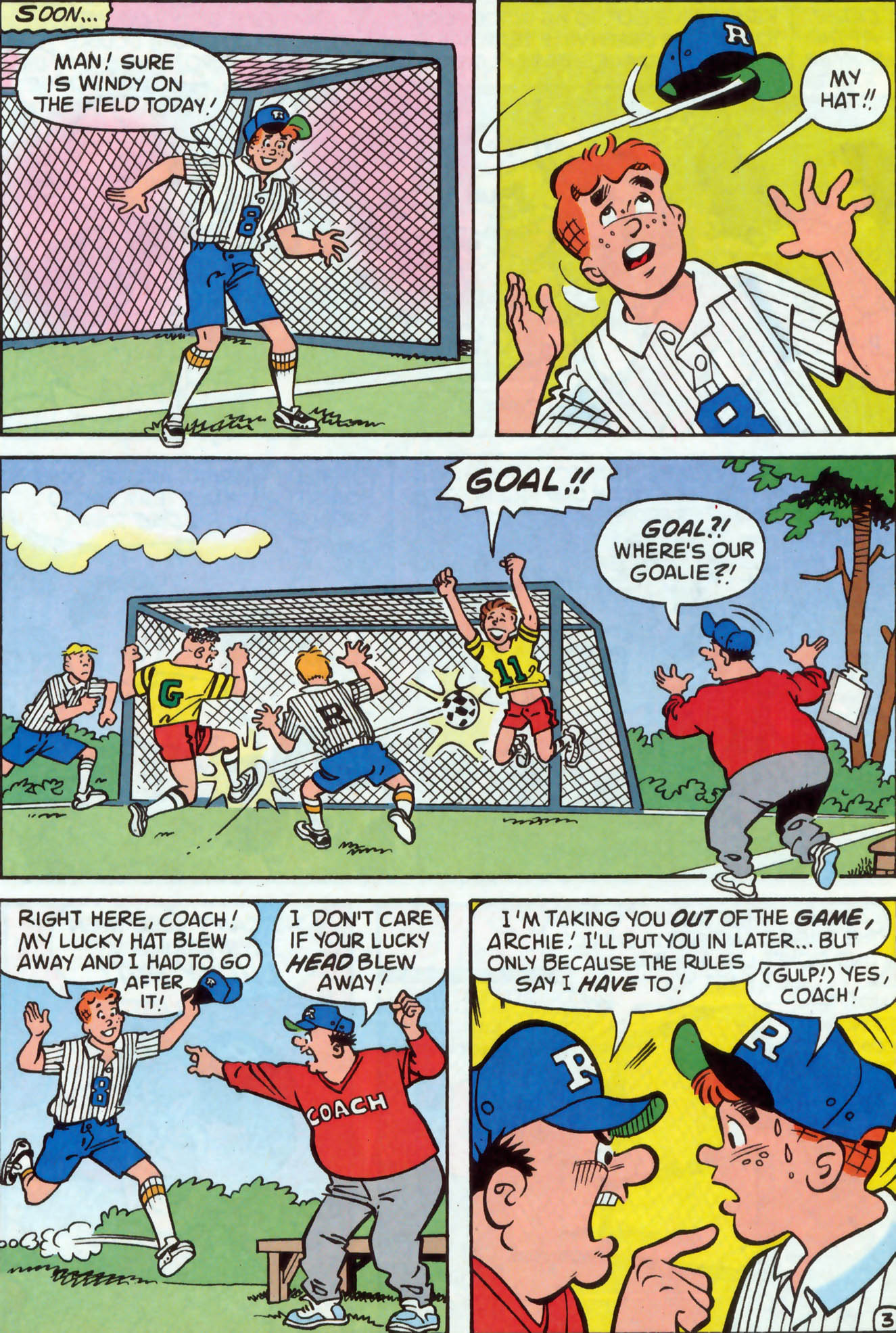 Read online Archie (1960) comic -  Issue #477 - 22