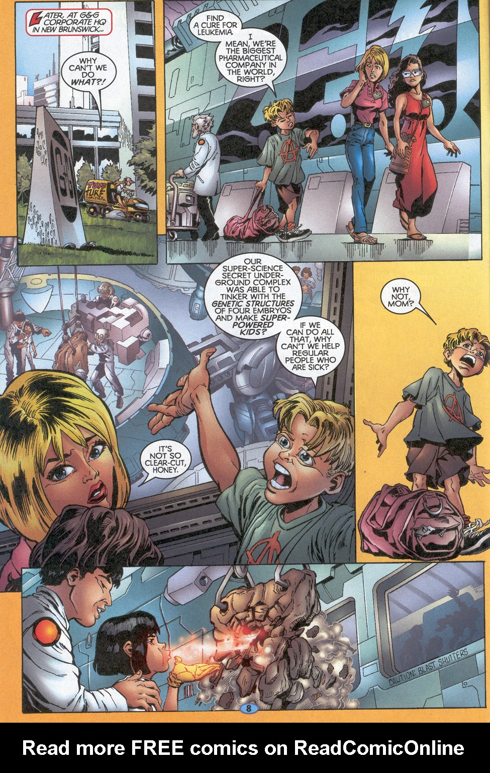 Read online Troublemakers comic -  Issue #10 - 7