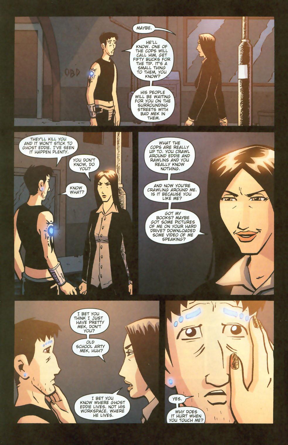 Read online Mek comic -  Issue #3 - 8