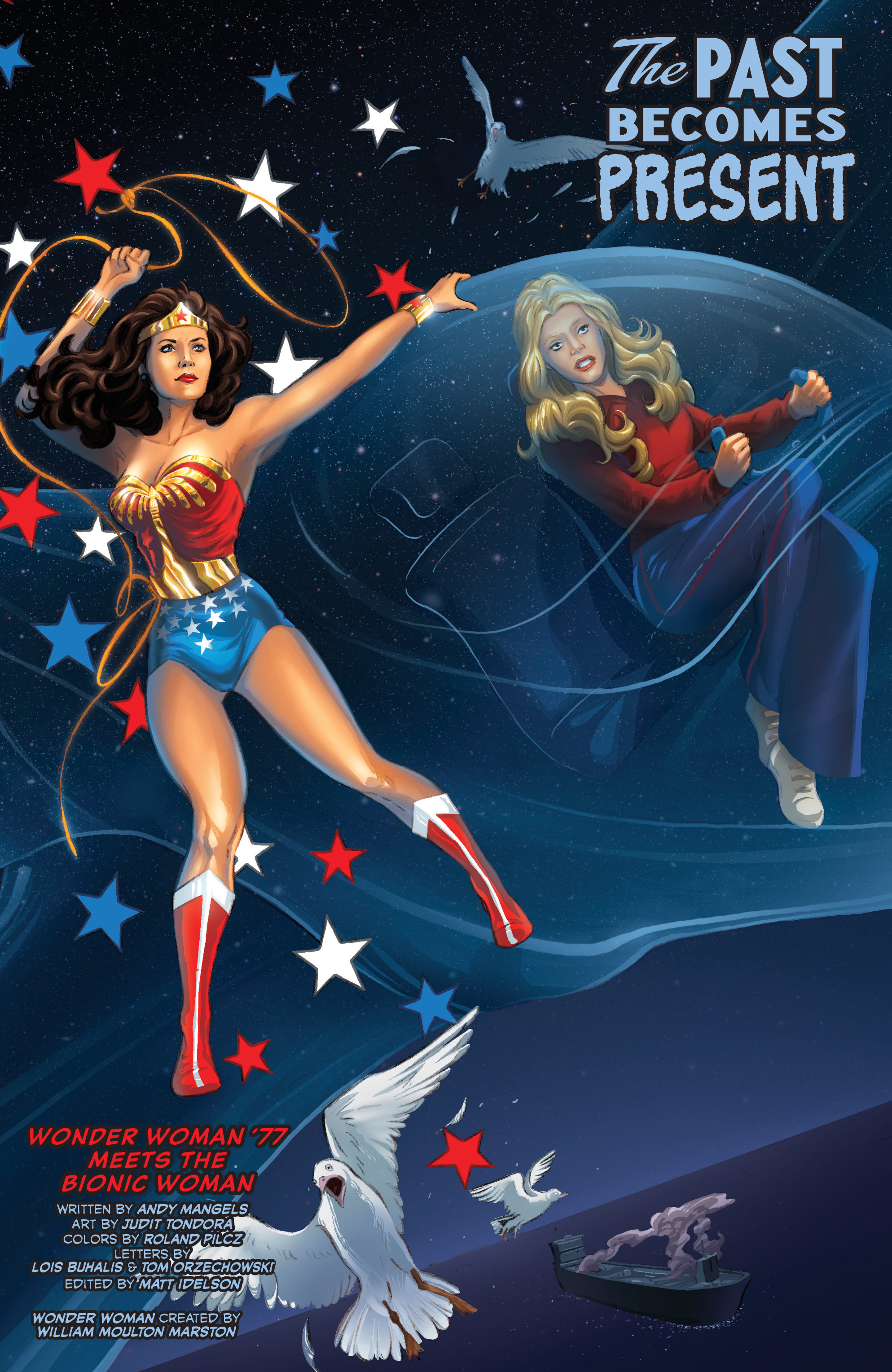 Read online Wonder Woman '77 Meets The Bionic Woman comic -  Issue #3 - 6