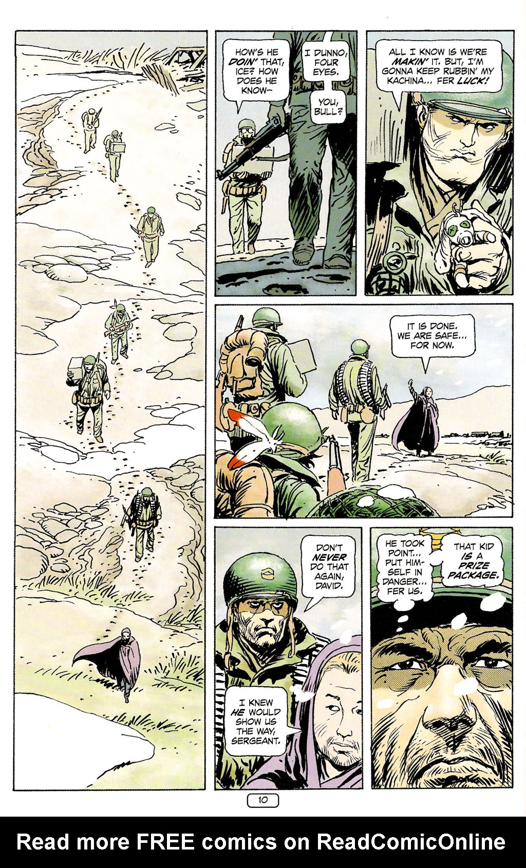 Read online Sgt. Rock: The Prophecy comic -  Issue #4 - 10