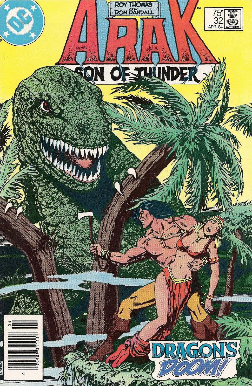 Arak Son of Thunder 32 Page 1