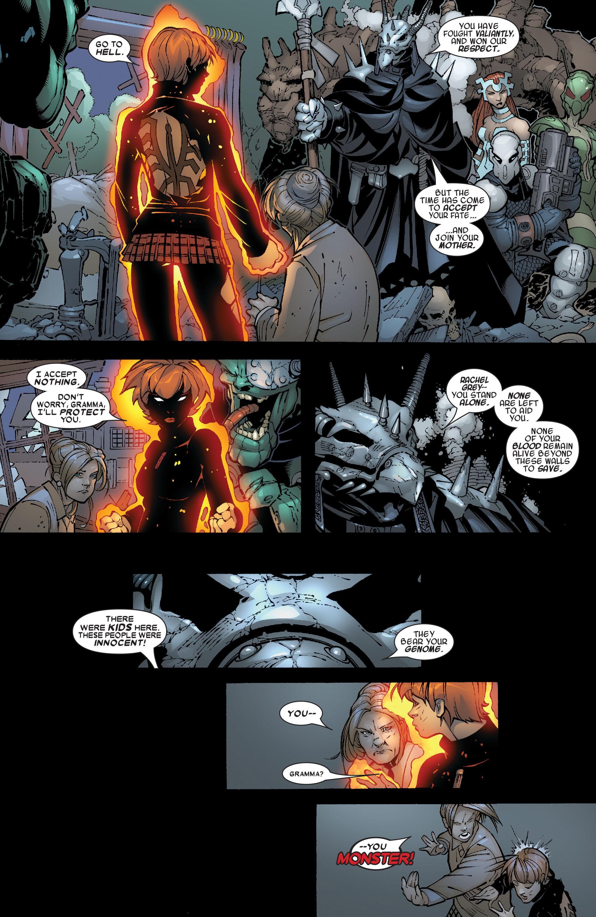 Read online Uncanny X-Men (1963) comic -  Issue #468 - 9