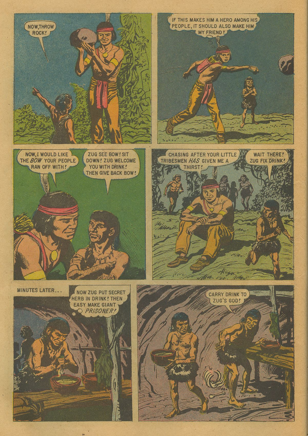 Read online Turok, Son of Stone comic -  Issue #17 - 10