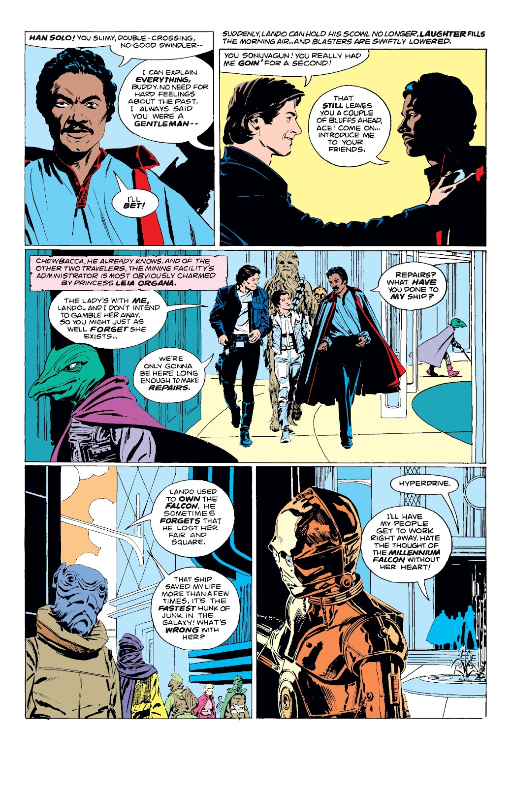 Read online Star Wars Legends: The Original Marvel Years - Epic Collection comic -  Issue # TPB 3 (Part 1) - 82