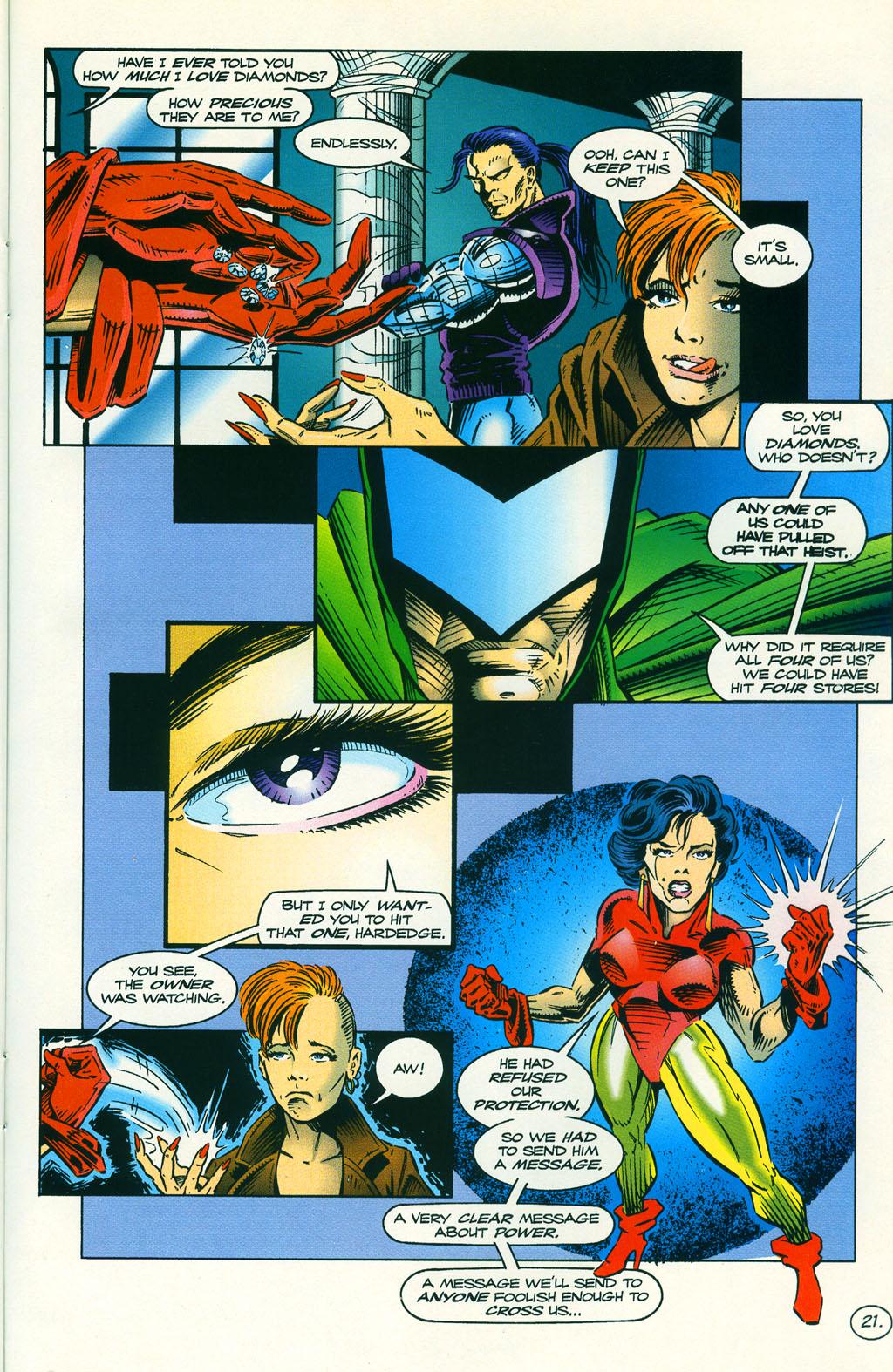 Read online ShadowHawk comic -  Issue #5 - 27