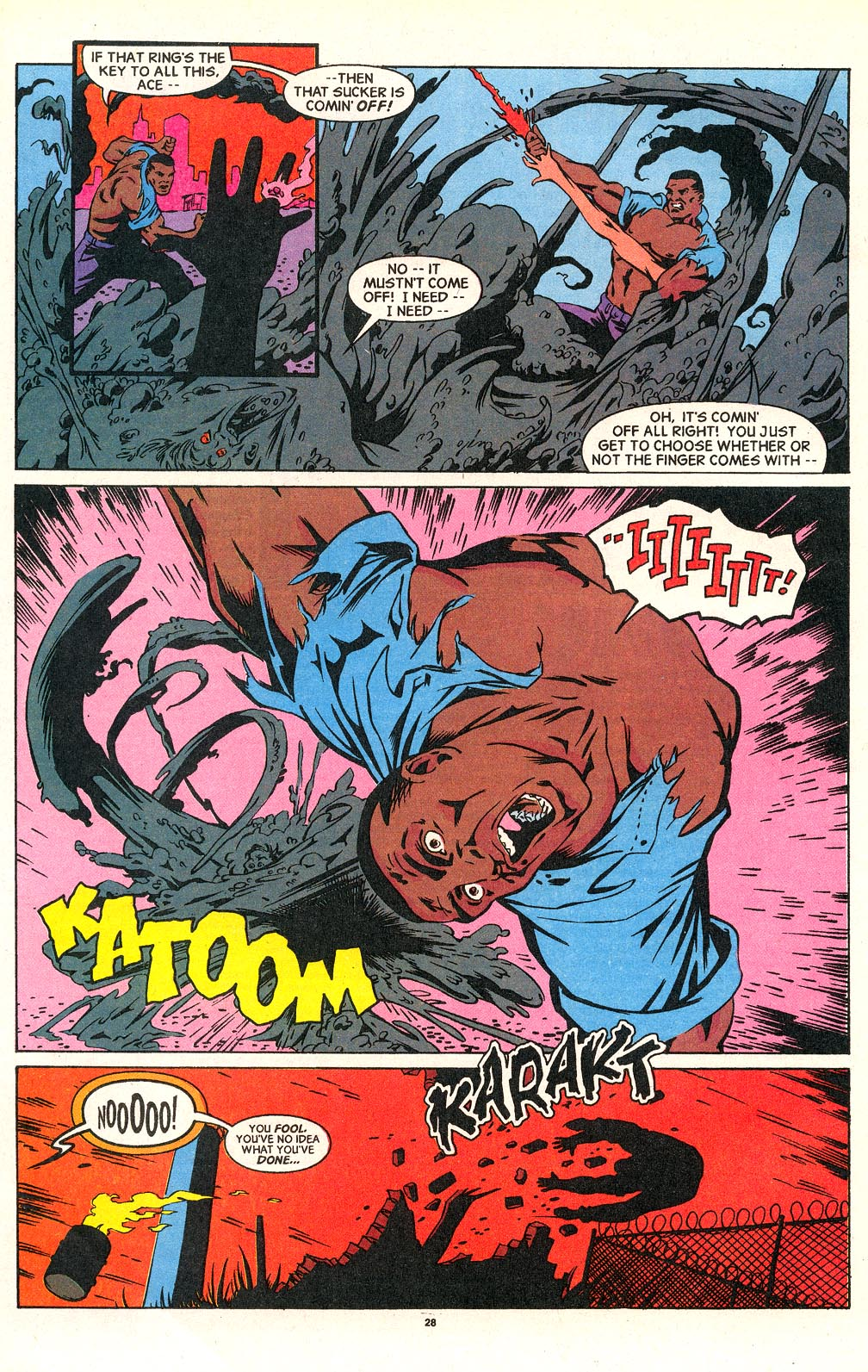Cage (1992) issue 18 - Page 21
