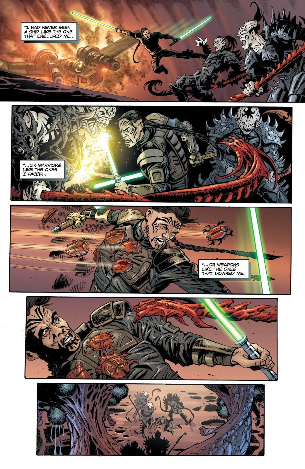 Read online Star Wars Legends: Legacy - Epic Collection comic -  Issue # TPB 1 (Part 5) - 19
