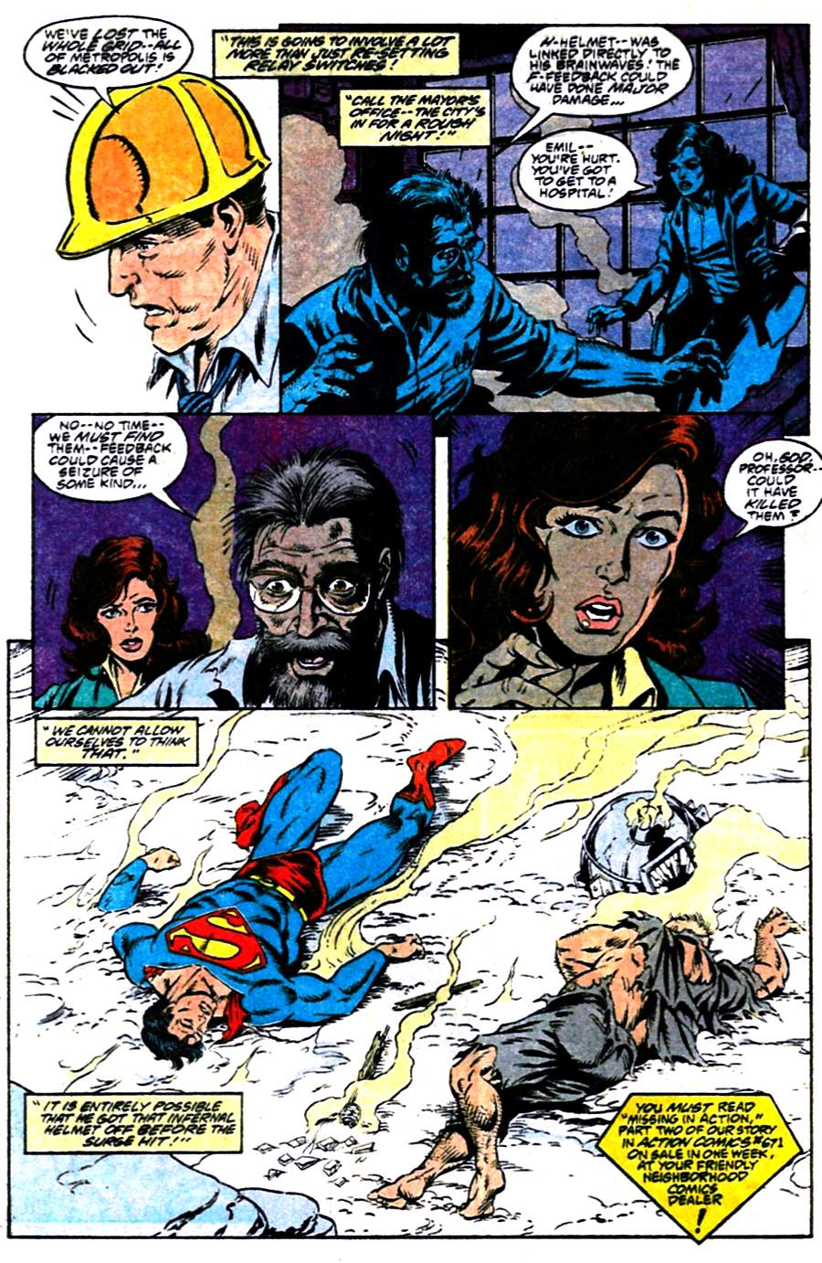 Read online Adventures of Superman (1987) comic -  Issue #484 - 23