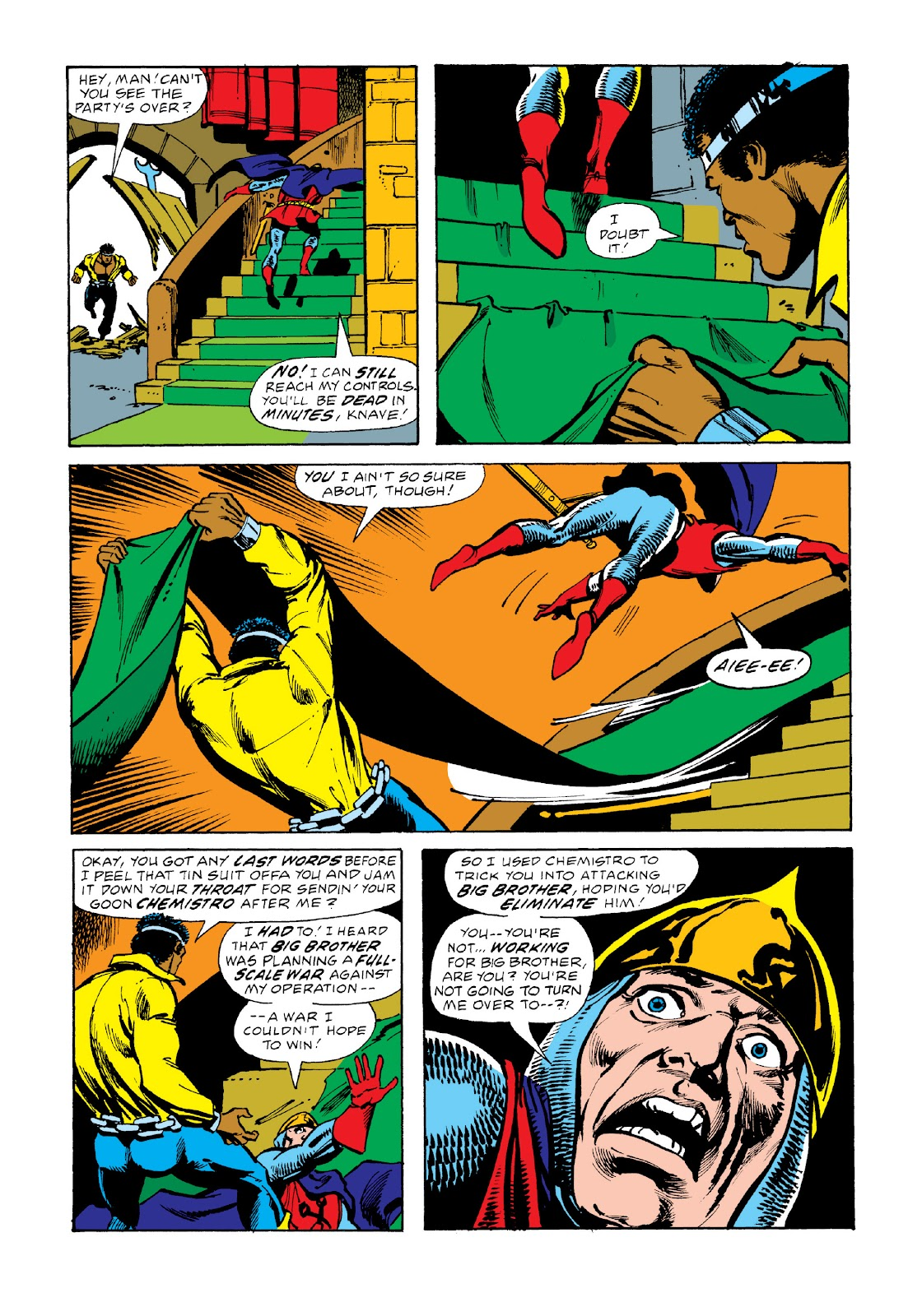 Read online Marvel Masterworks: Luke Cage, Power Man comic -  Issue # TPB 3 (Part 2) - 71