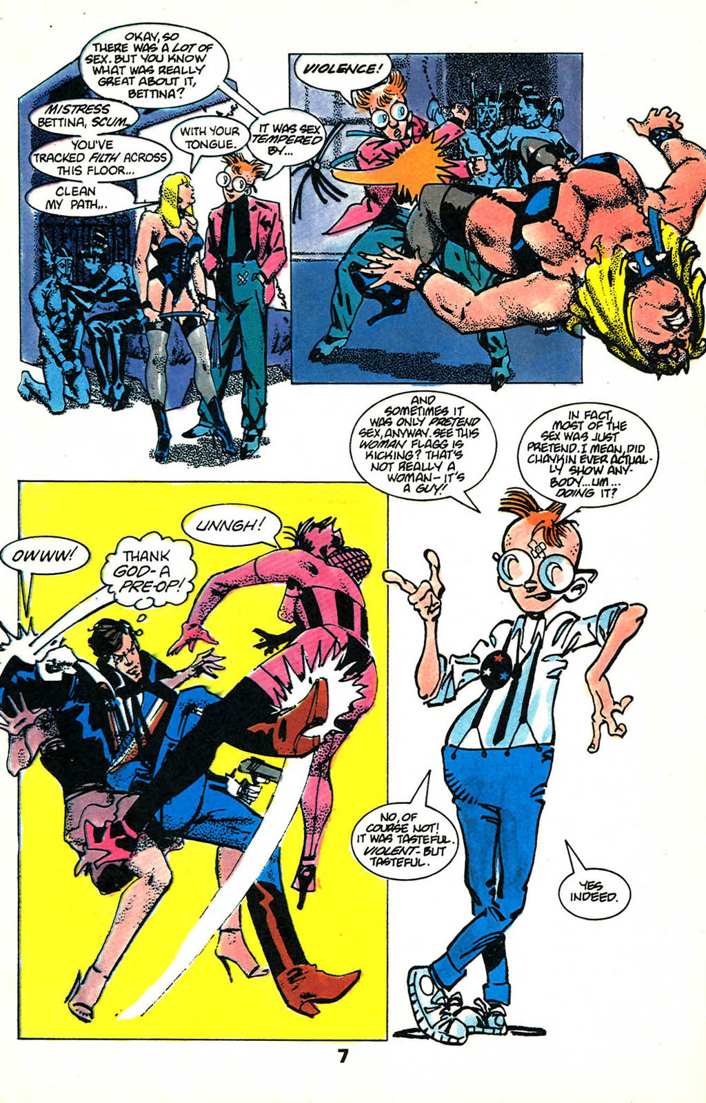 Read online American Flagg! comic -  Issue #46 - 9