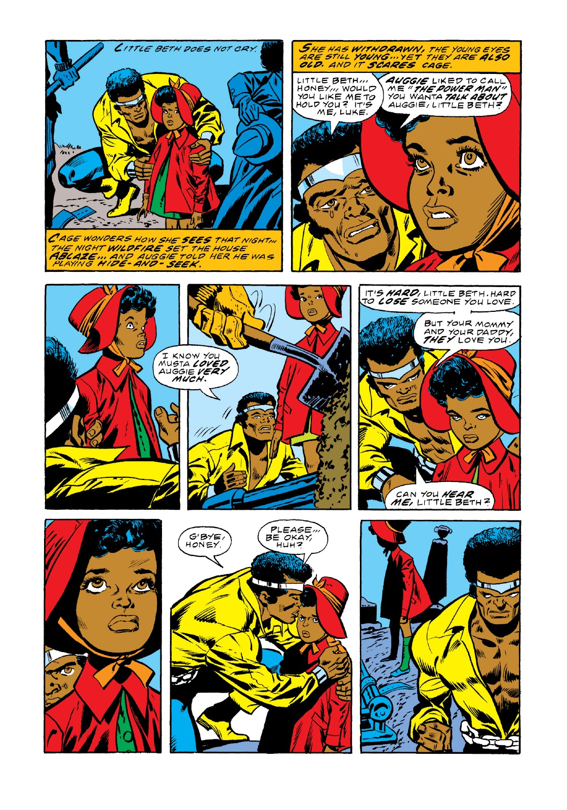 Read online Marvel Masterworks: Luke Cage, Power Man comic -  Issue # TPB 3 (Part 1) - 42