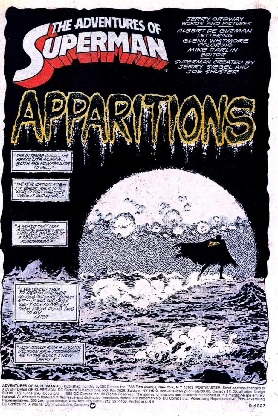Read online Adventures of Superman (1987) comic -  Issue #453 - 2