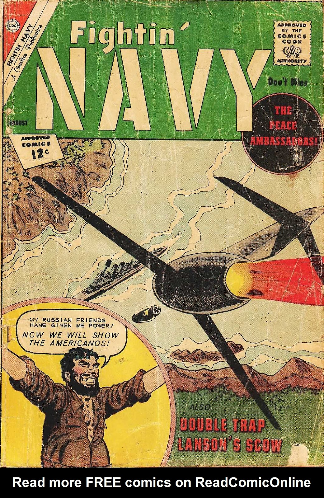 Read online Fightin' Navy comic -  Issue #105 - 1