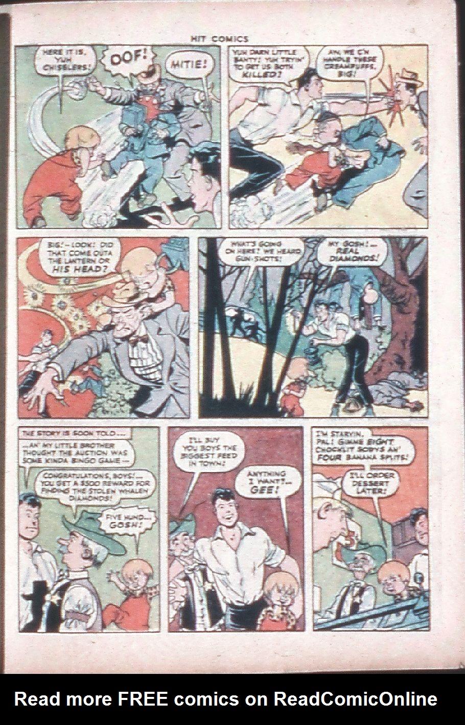Read online Hit Comics comic -  Issue #36 - 37