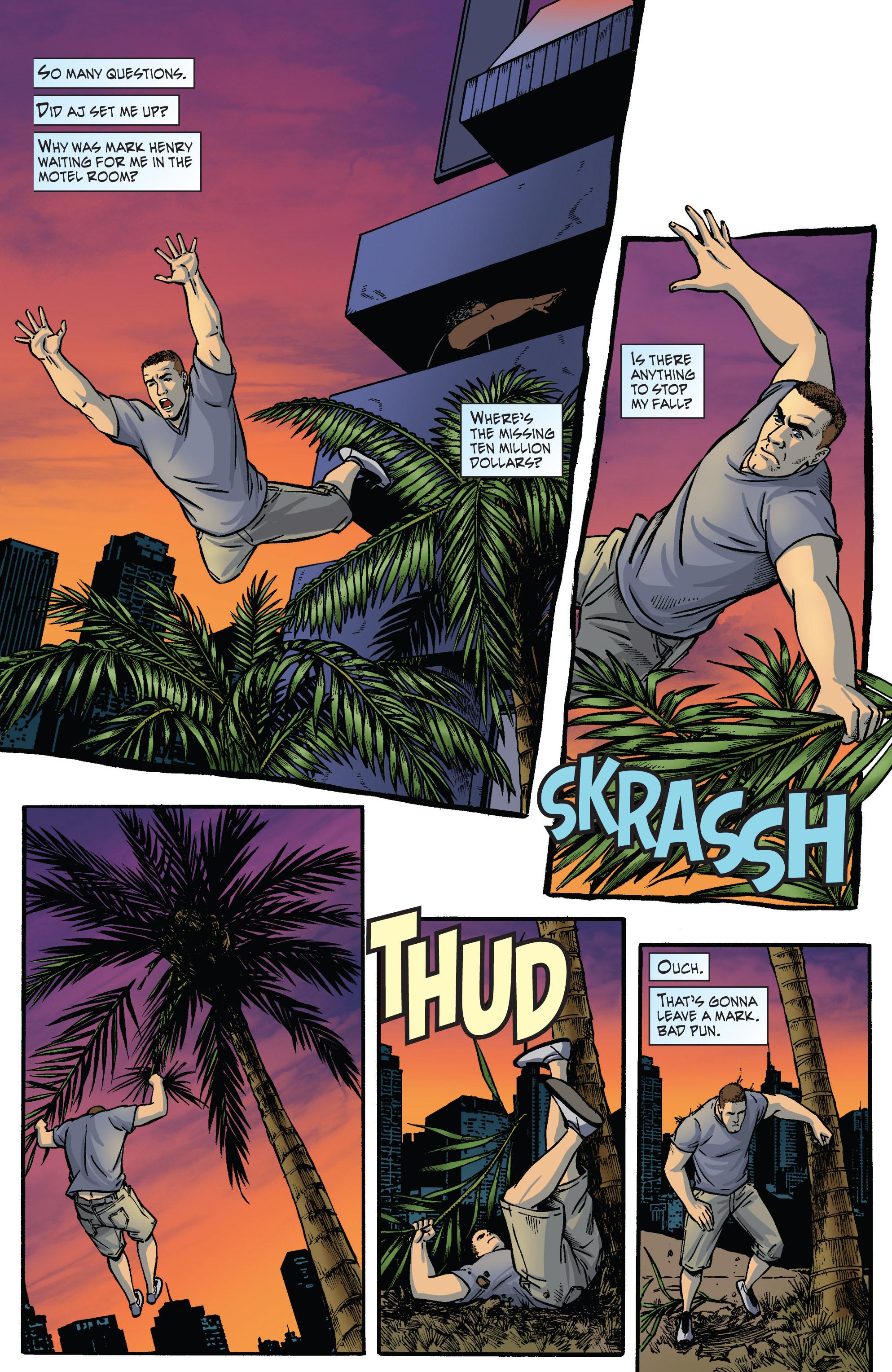 Read online WWE Superstars comic -  Issue #2 - 3