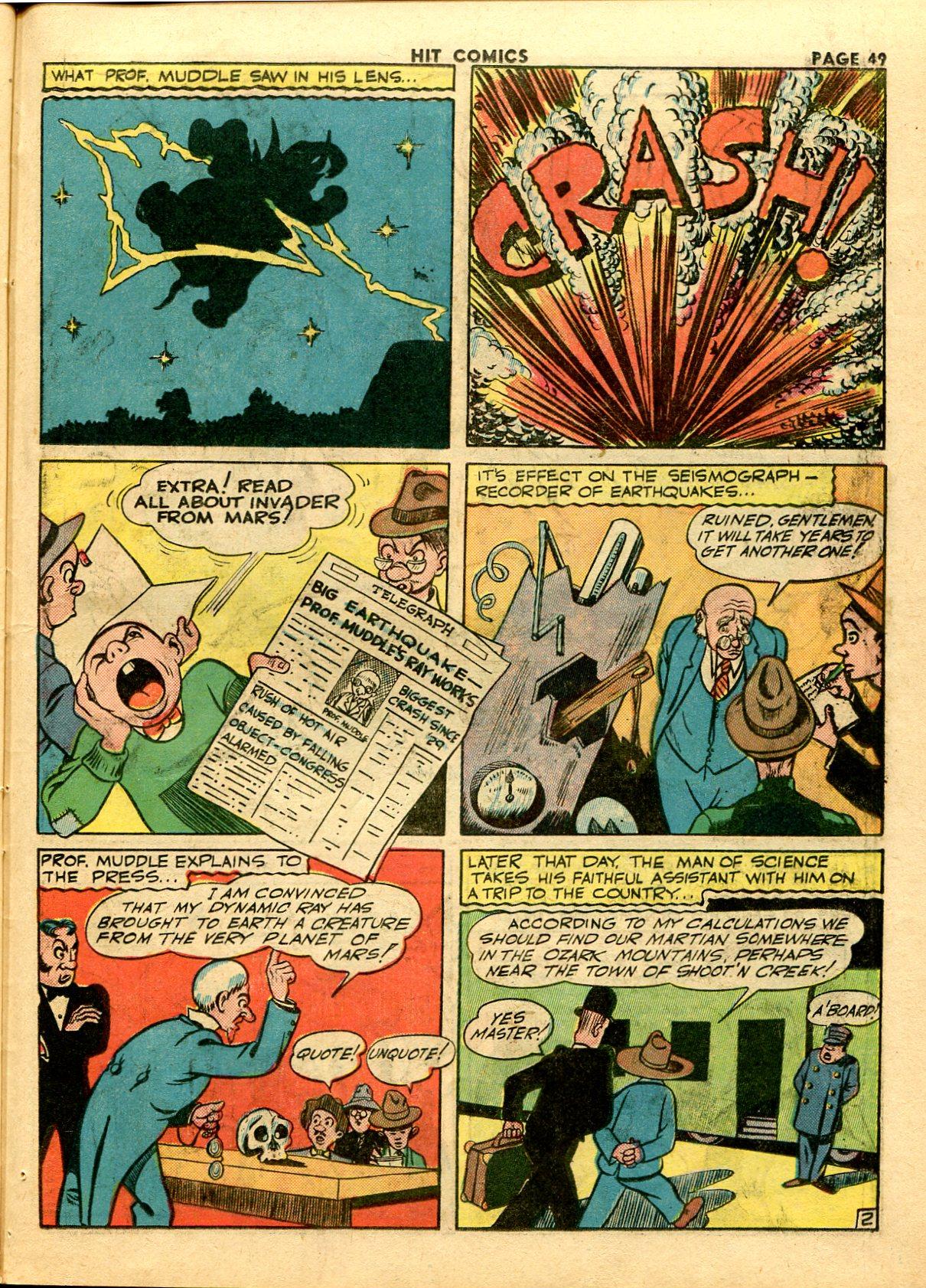 Read online Hit Comics comic -  Issue #28 - 52