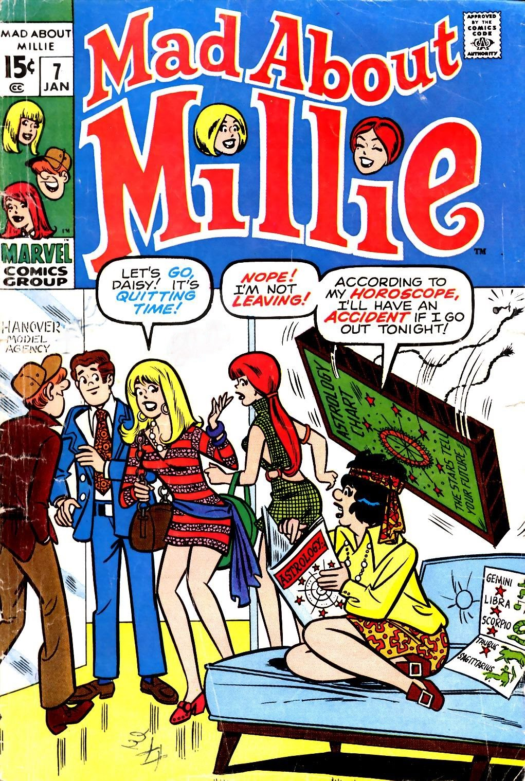 Mad About Millie 7 Page 1