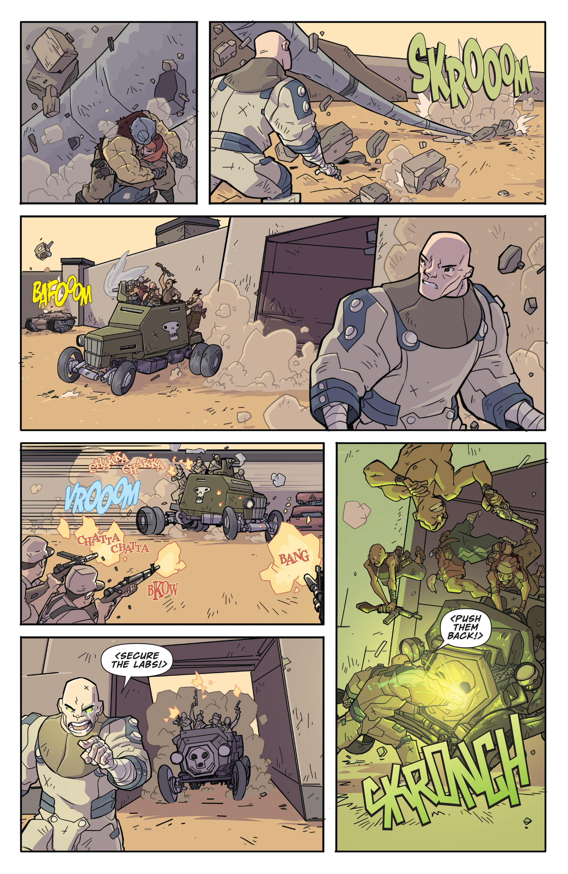 Read online Atomic Robo and the Temple of Od comic -  Issue #2 - 12