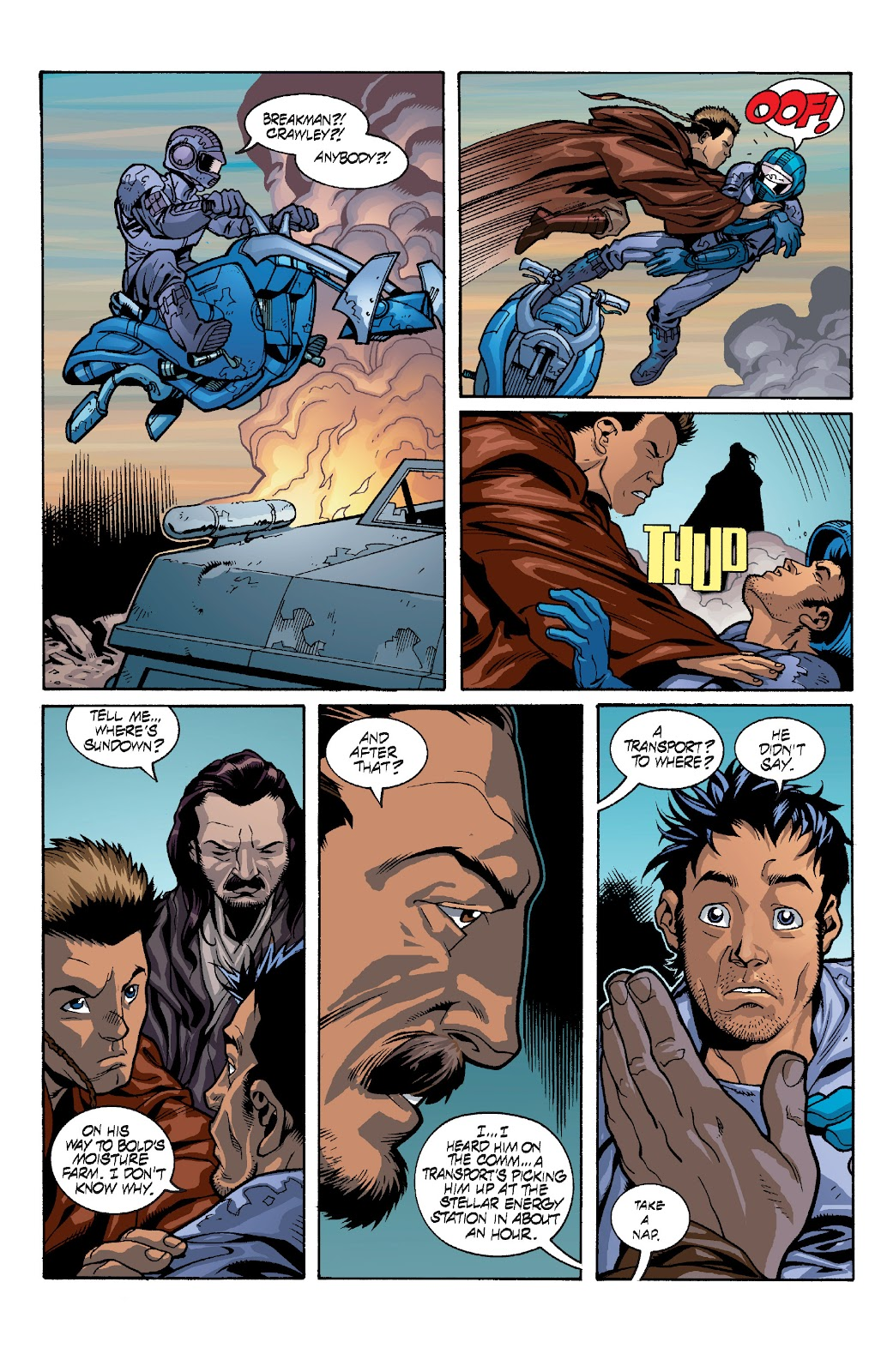 Read online Star Wars Legends: Rise of the Sith - Epic Collection comic -  Issue # TPB 1 (Part 4) - 23