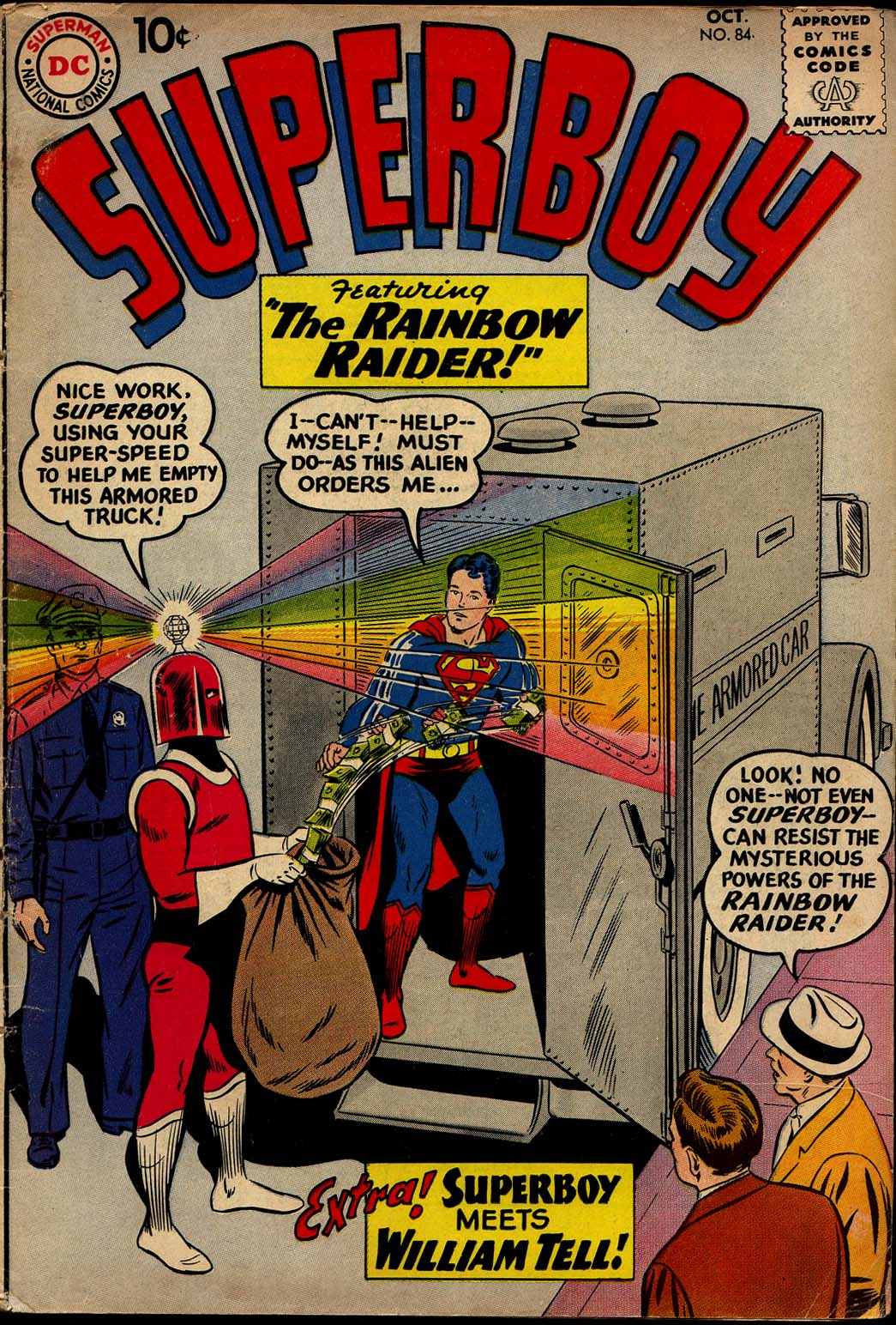 Superboy (1949) issue 84 - Page 1