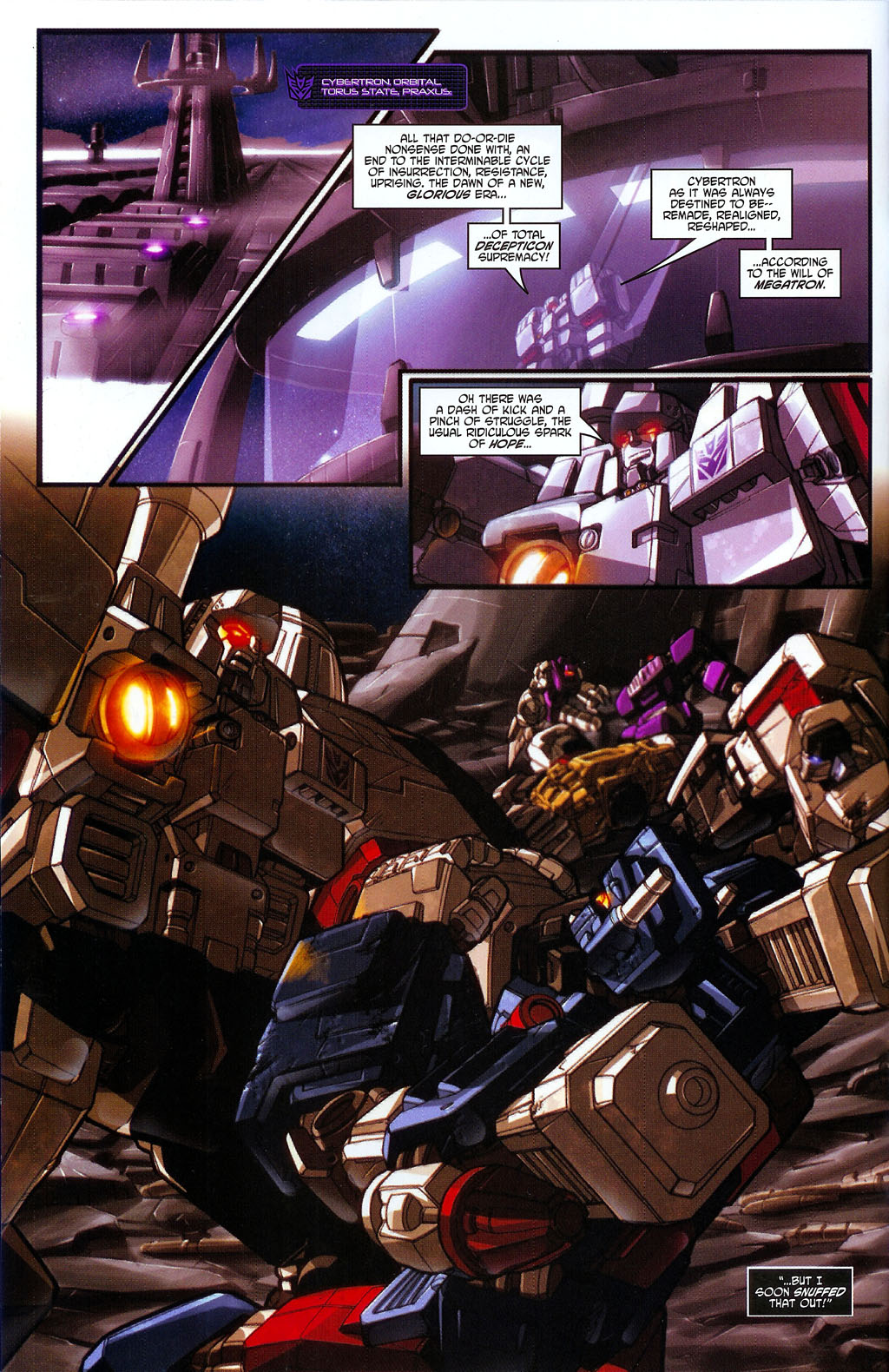 """Read online Transformers War Within: """"The Age of Wrath"""" comic -  Issue #2 - 3"""
