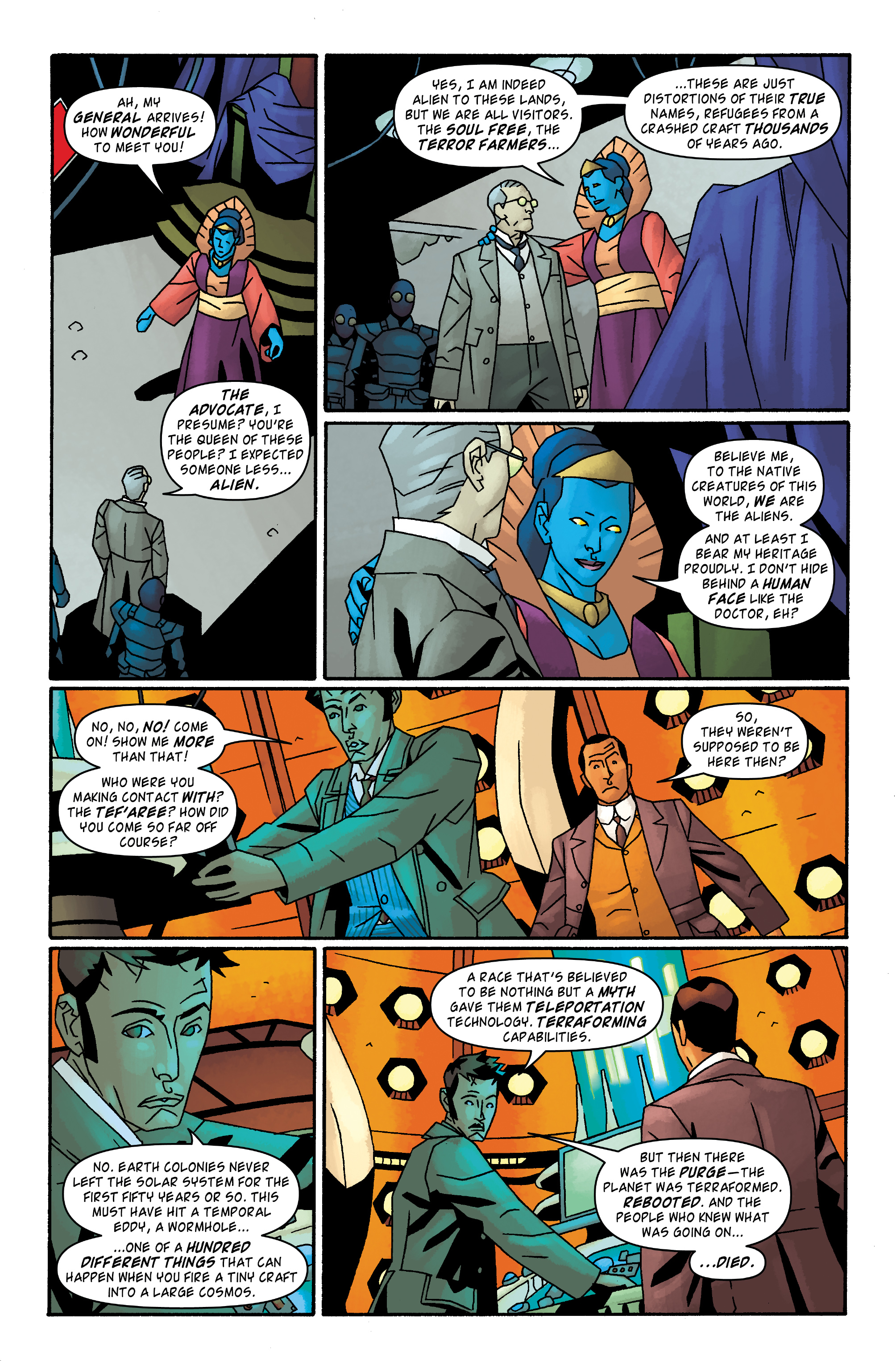 Read online Doctor Who: The Tenth Doctor Archives comic -  Issue #32 - 22