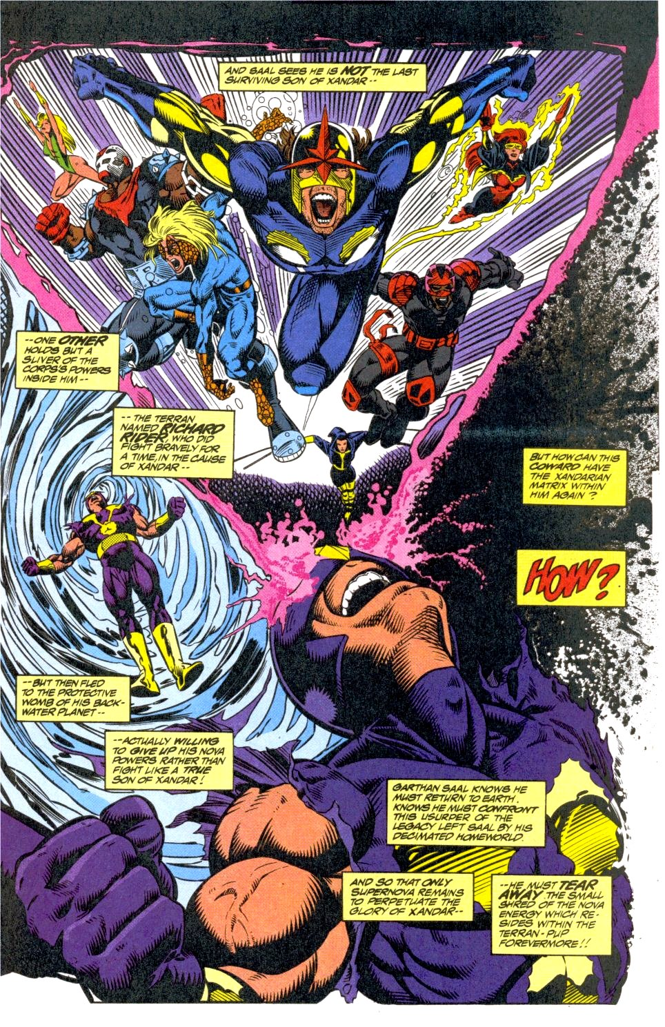 The New Warriors Issue #40 #44 - English 4