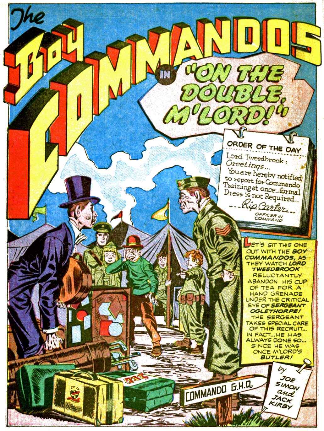 Boy Commandos issue 2 - Page 18